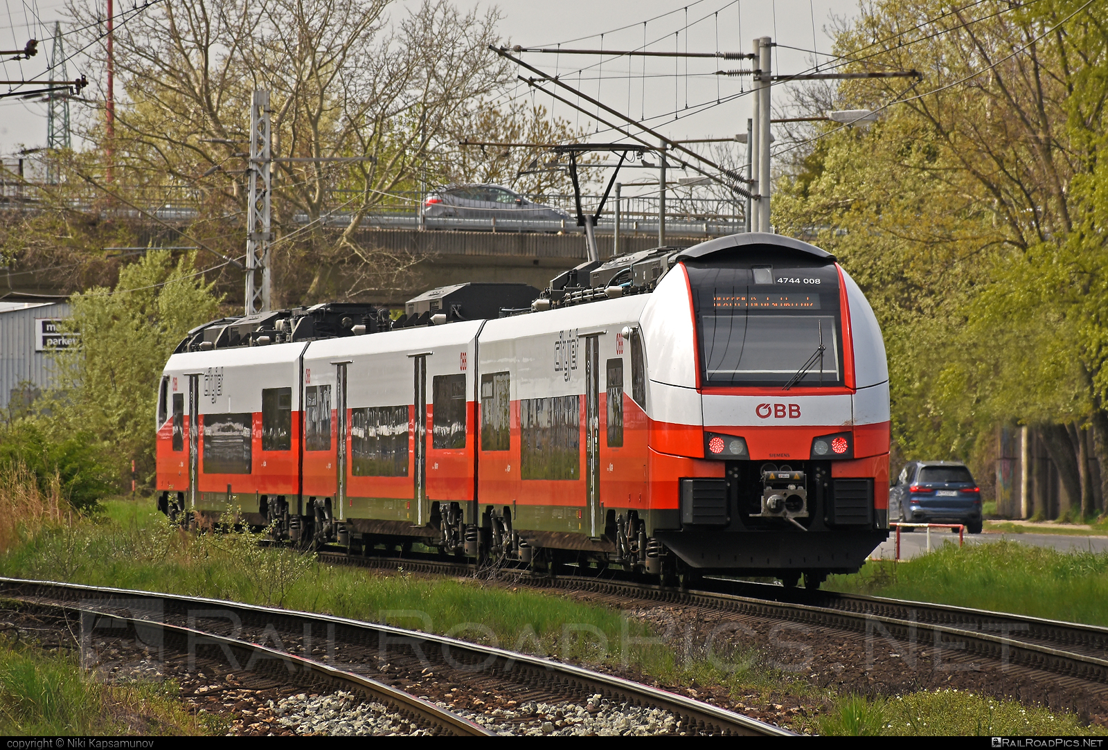 Siemens Desiro ML - 4744 008 operated by Österreichische Bundesbahnen #cityjet #desiro #desiroml #obb #obbcityjet #osterreichischebundesbahnen #siemens #siemensdesiro #siemensdesiroml