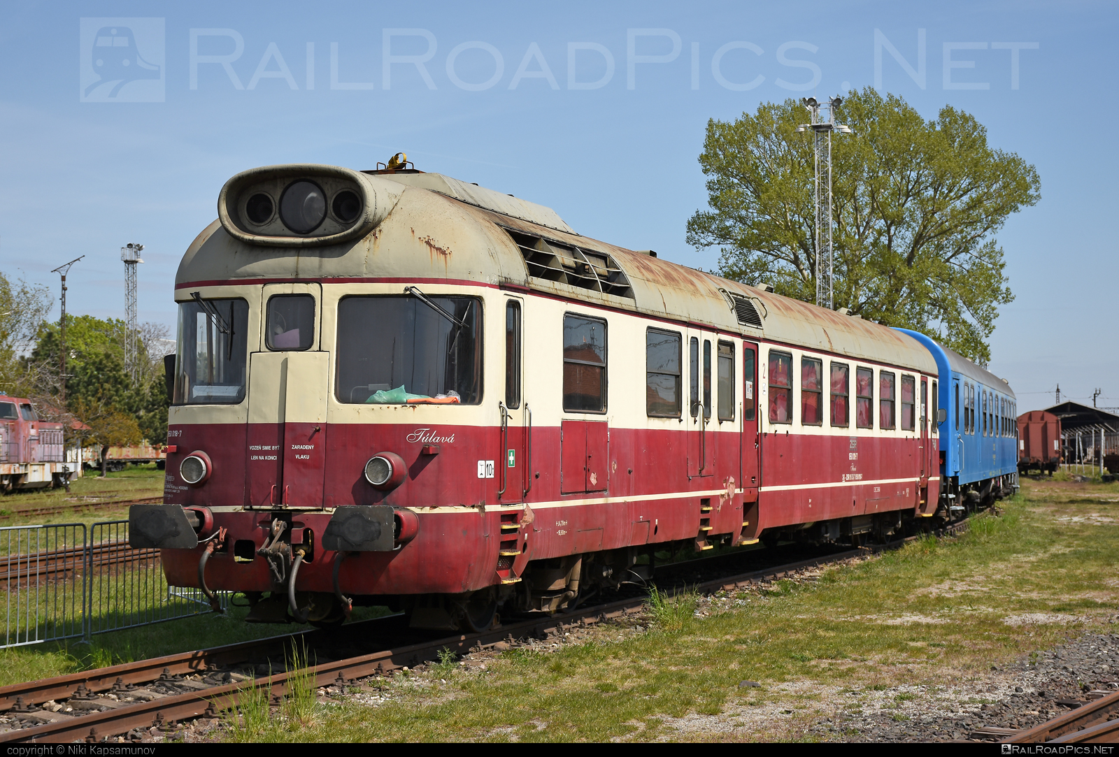 Vagónka TATRA Studénka M 286.0 - 850 018-7 operated by Železnice Slovenskej Republiky #csd850 #csdm286 #m286 #tulava #vagonkastudenka #vagonkatatrastudenka #zelezniceslovenskejrepubliky #zsr