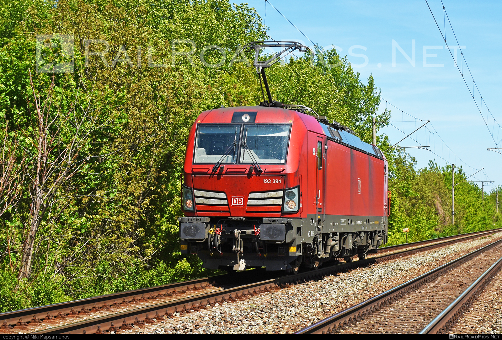 Siemens Vectron MS - 193 394 operated by DB Cargo AG #db #dbcargo #dbcargoag #deutschebahn #siemens #siemensvectron #siemensvectronms #vectron #vectronms