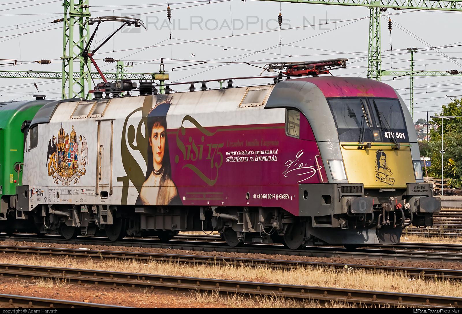 Siemens ES 64 U2 - 470 501 operated by GYSEV - Györ-Sopron-Ebenfurti Vasut Részvénytarsasag #es64 #es64u #es64u2 #eurosprinter #gyorsopronebenfurtivasutreszvenytarsasag #gysev #siemens #siemenses64 #siemenses64u #siemenses64u2 #siemenstaurus #taurus #tauruslocomotive
