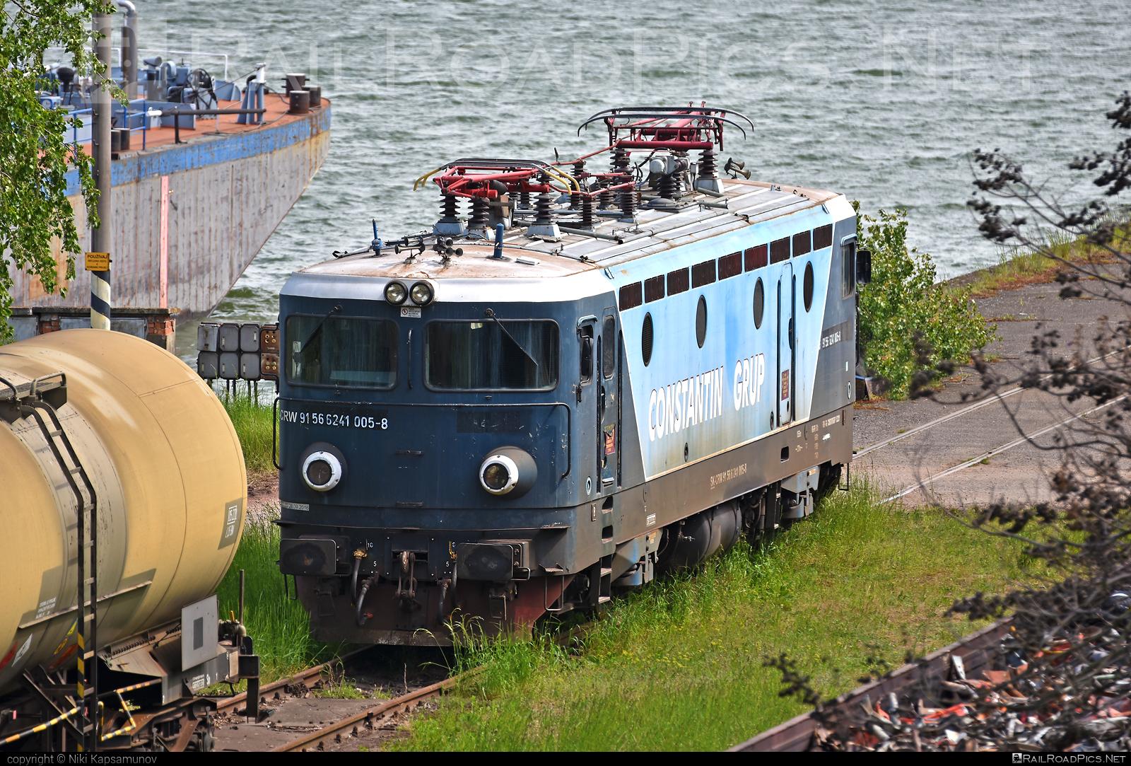 Končar JŽ class 441 - 241 005-8 operated by CENTRAL RAILWAYS s.r.o. #centralrailways #constantingrup #crw #jz441 #koncar #koncar441