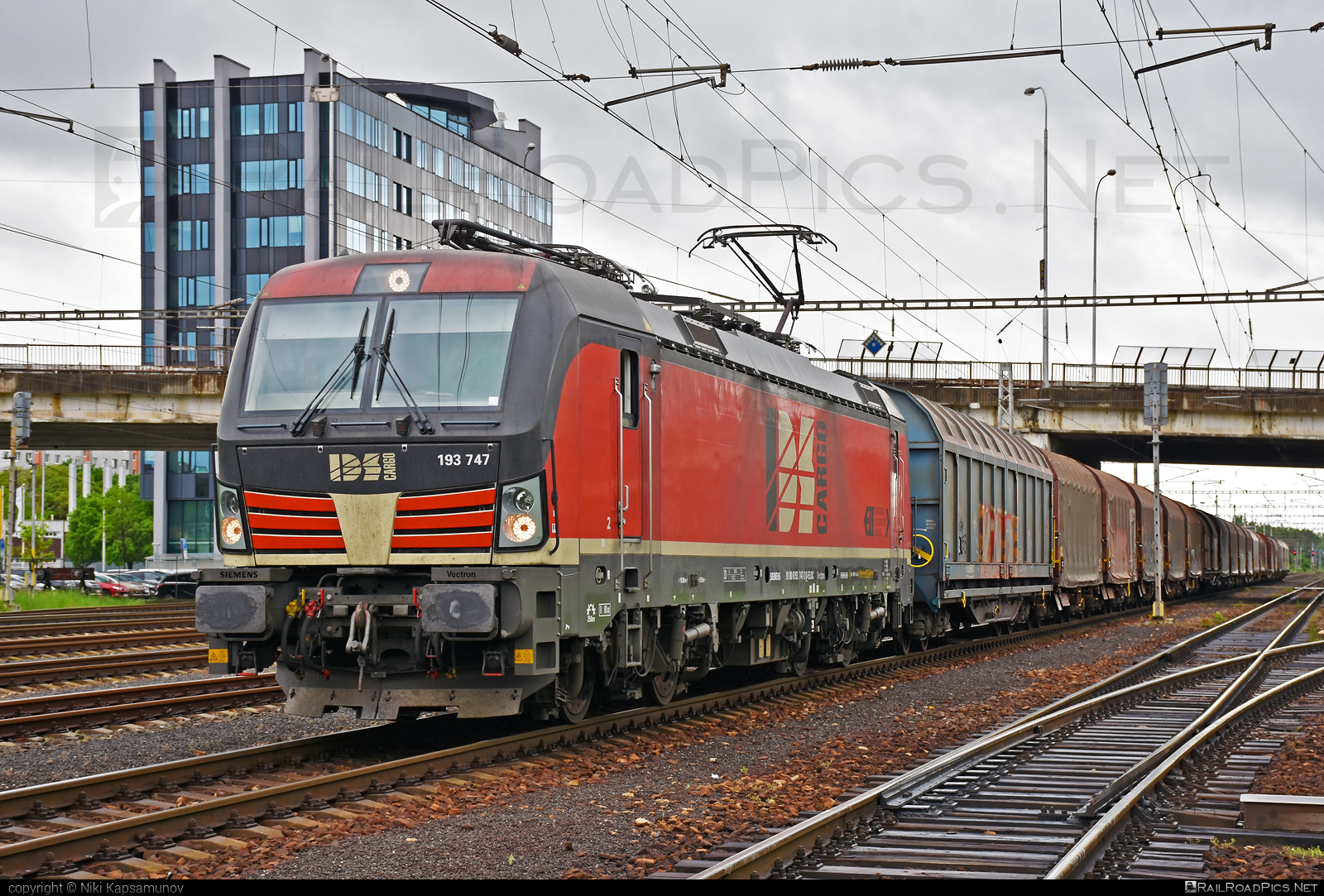 Siemens Vectron MS - 193 747 operated by IDS CARGO a. s. #ell #ellgermany #eloc #europeanlocomotiveleasing #idsc #idscargo #siemens #siemensvectron #siemensvectronms #vectron #vectronms