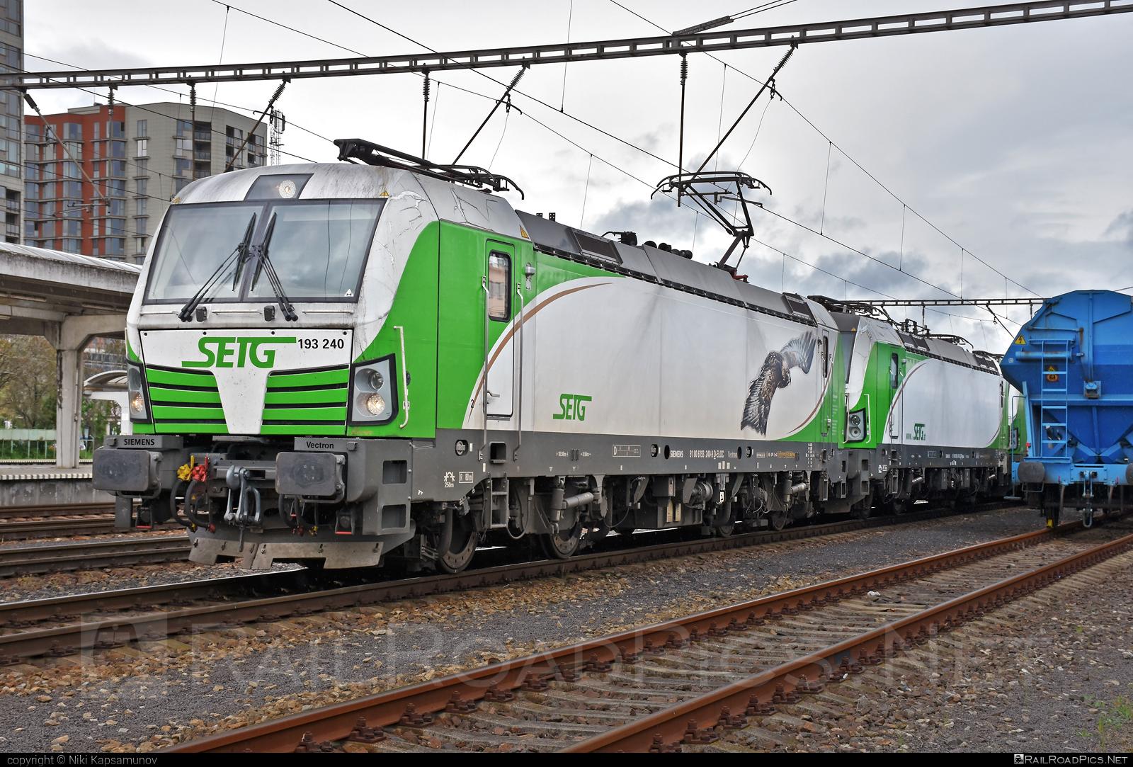 Siemens Vectron AC - 193 240 operated by Salzburger Eisenbahn Transportlogistik GmbH #SalzburgerEisenbahnTransportlogistik #SalzburgerEisenbahnTransportlogistikGmbH #ell #ellgermany #eloc #europeanlocomotiveleasing #setg #siemens #siemensvectron #siemensvectronac #vectron #vectronac