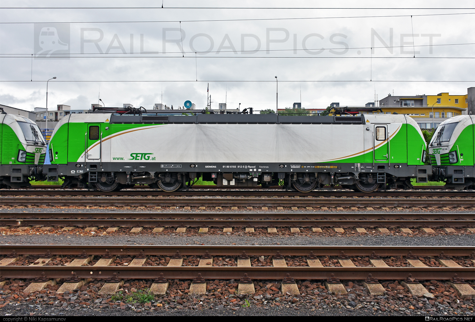 Siemens Vectron AC - 193 812 operated by Salzburger Eisenbahn Transportlogistik GmbH #SalzburgerEisenbahnTransportlogistik #SalzburgerEisenbahnTransportlogistikGmbH #railpool #railpoolgmbh #setg #siemens #siemensvectron #siemensvectronac #vectron #vectronac