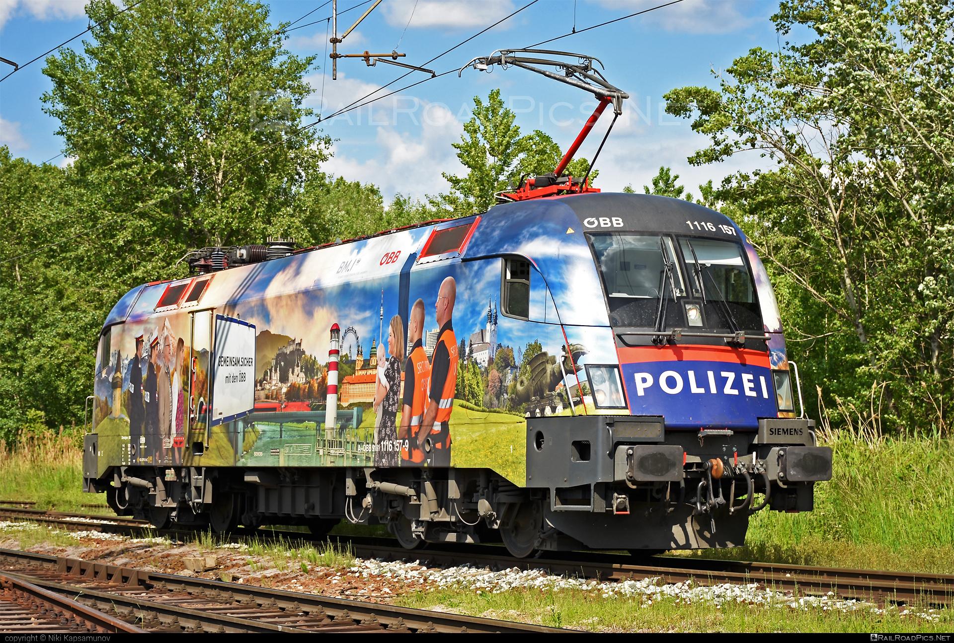 Siemens ES 64 U2 - 1116 157 operated by Rail Cargo Austria AG #es64 #es64u #es64u2 #eurosprinter #obb #osterreichischebundesbahnen #rcw #siemens #siemenses64 #siemenses64u #siemenses64u2 #siemenstaurus #taurus #tauruslocomotive