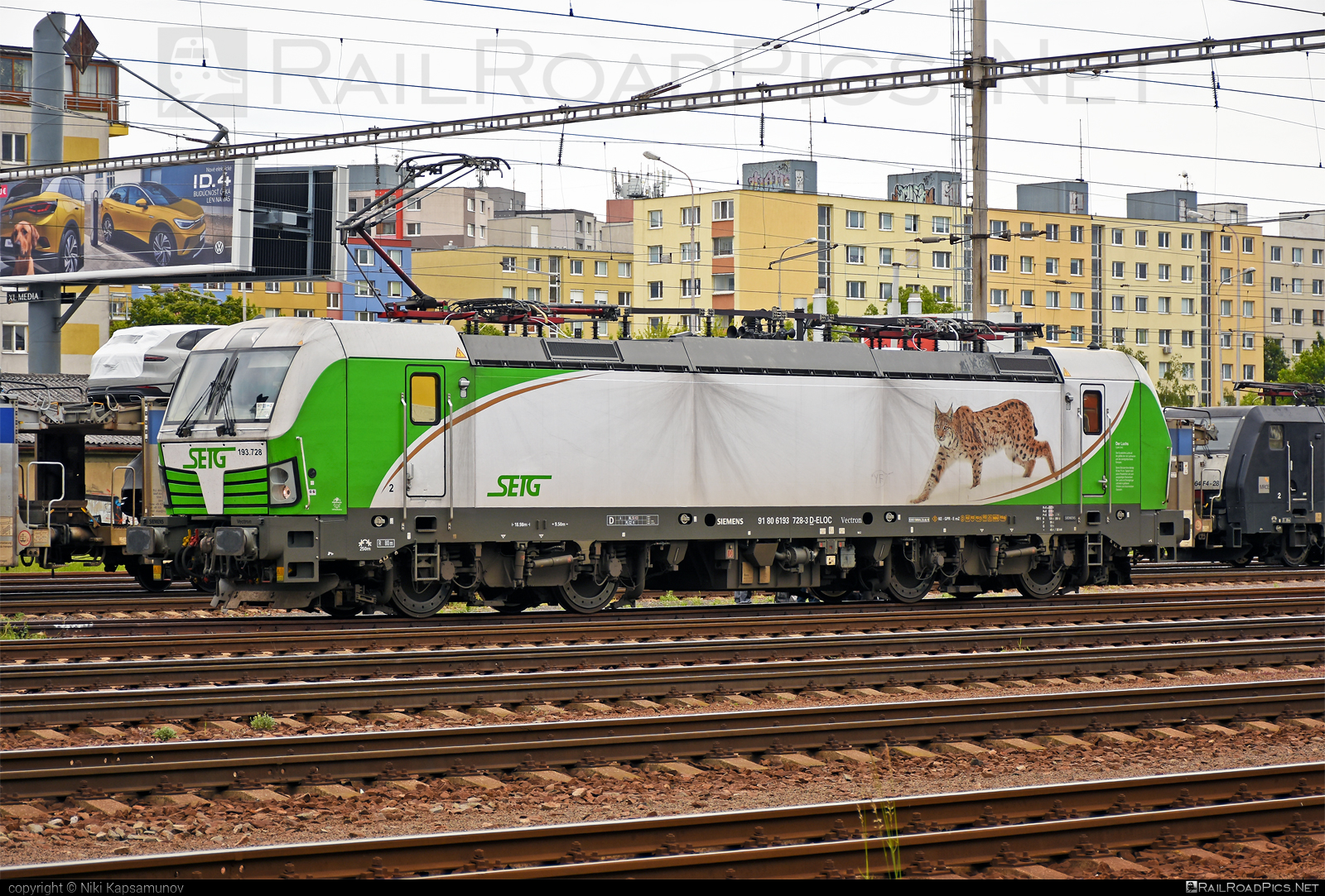 Siemens Vectron MS - 193 728 operated by Salzburger Eisenbahn Transportlogistik GmbH #SalzburgerEisenbahnTransportlogistik #SalzburgerEisenbahnTransportlogistikGmbH #ell #ellgermany #eloc #europeanlocomotiveleasing #setg #siemens #siemensvectron #siemensvectronms #vectron #vectronms