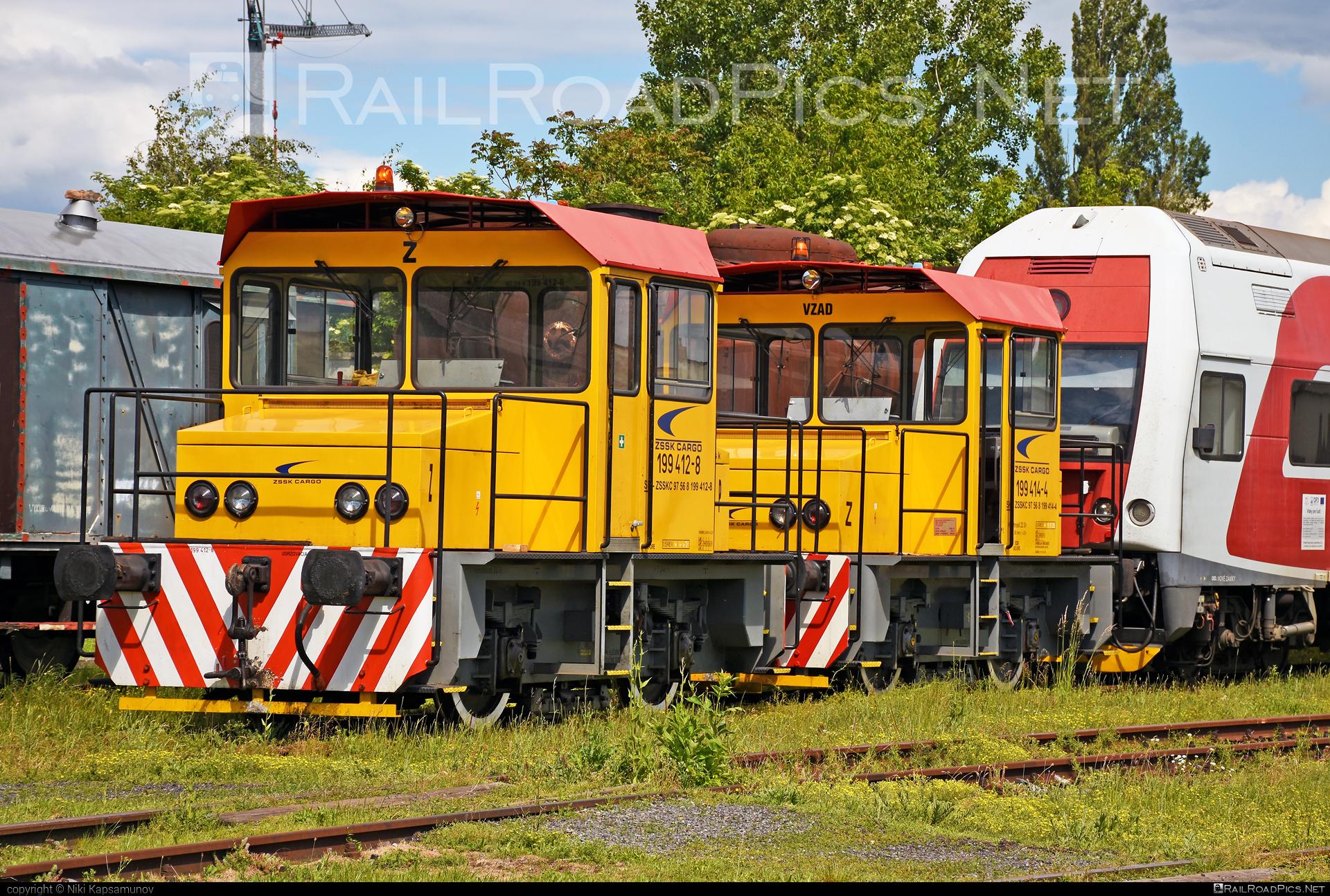 RD Vrútky Class 199.4 - 199 412-8 operated by Železničná Spoločnost' Cargo Slovakia a.s. #ZeleznicnaSpolocnostCargoSlovakia #locomotive1994 #rdvrutky #zsskcargo