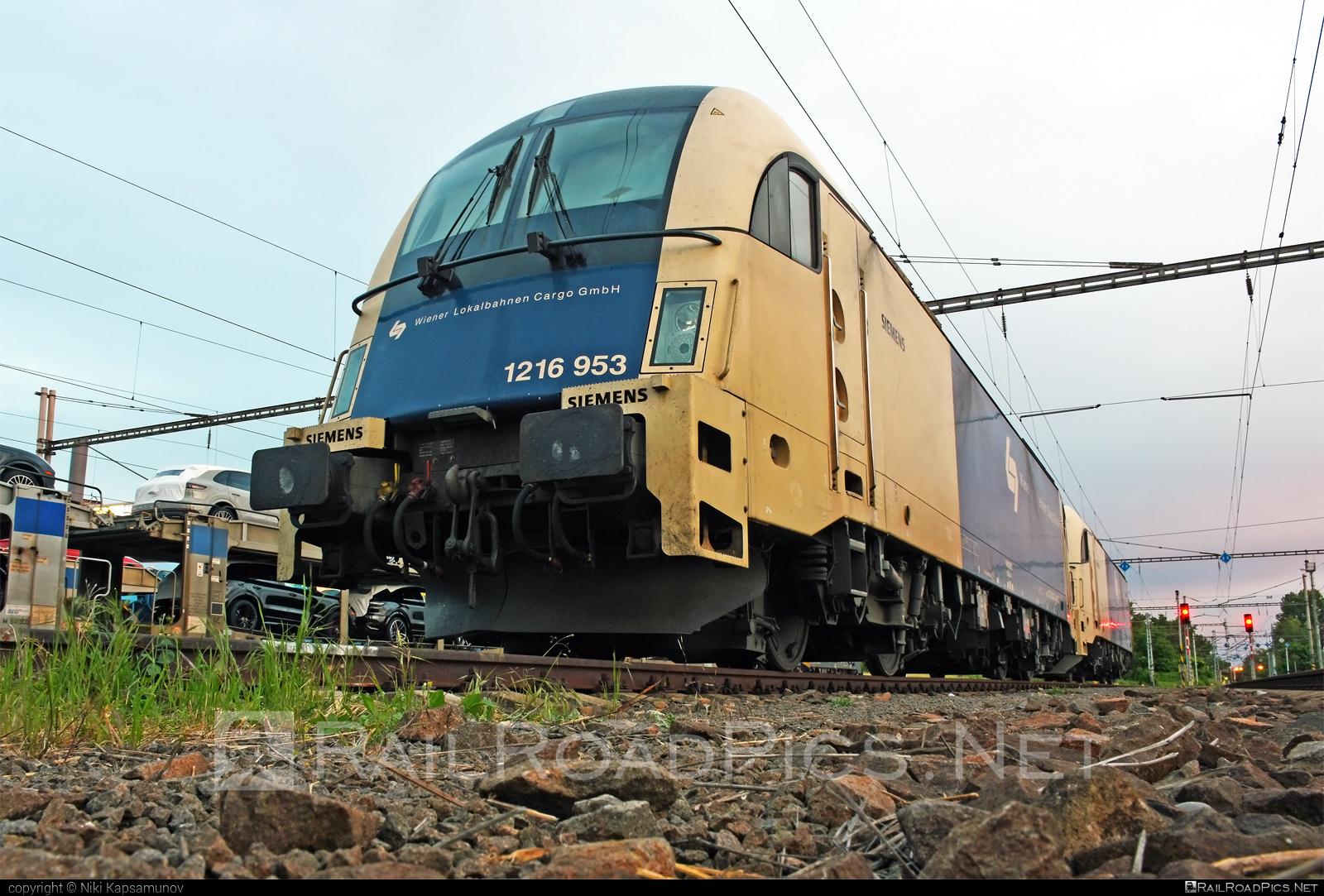 Siemens ES 64 U4 - 1216 953 operated by Wiener Lokalbahnen Cargo GmbH #es64 #es64u #es64u4 #eurosprinter #siemens #siemenses64 #siemenses64u #siemenses64u4 #siemenstaurus #taurus #tauruslocomotive #wienerlokalbahnencargo #wienerlokalbahnencargogmbh #wlc