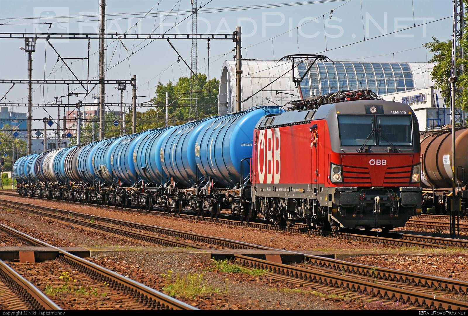 Siemens Vectron MS - 1293 173 operated by Rail Cargo Austria AG #kesselwagen #obb #osterreichischebundesbahnen #rcw #rtiwagon #siemens #siemensvectron #siemensvectronms #tankwagon #vectron #vectronms