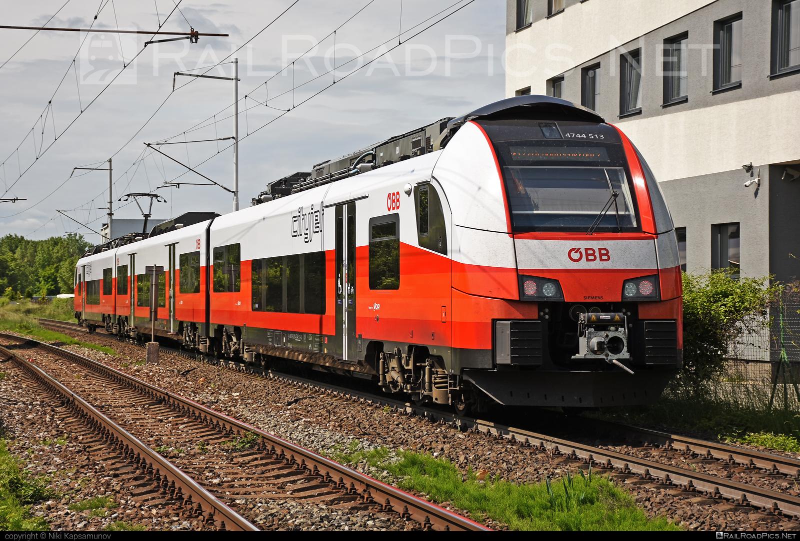 Siemens Desiro ML - 4744 513 operated by Österreichische Bundesbahnen #cityjet #desiro #desiroml #obb #obbcityjet #osterreichischebundesbahnen #siemens #siemensdesiro #siemensdesiroml