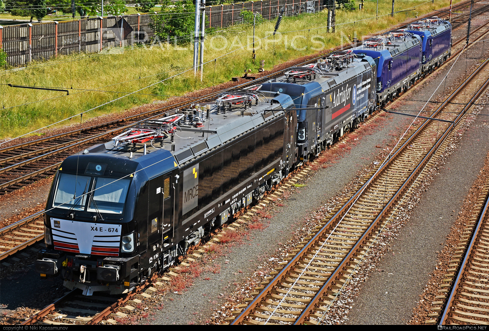 Siemens Vectron MS - 193 674-9 operated by ADRIAFER S.R.L. #adriafer #dispolok #mitsuirailcapitaleurope #mitsuirailcapitaleuropegmbh #mrce #siemens #siemensvectron #siemensvectronms #vectron #vectronms