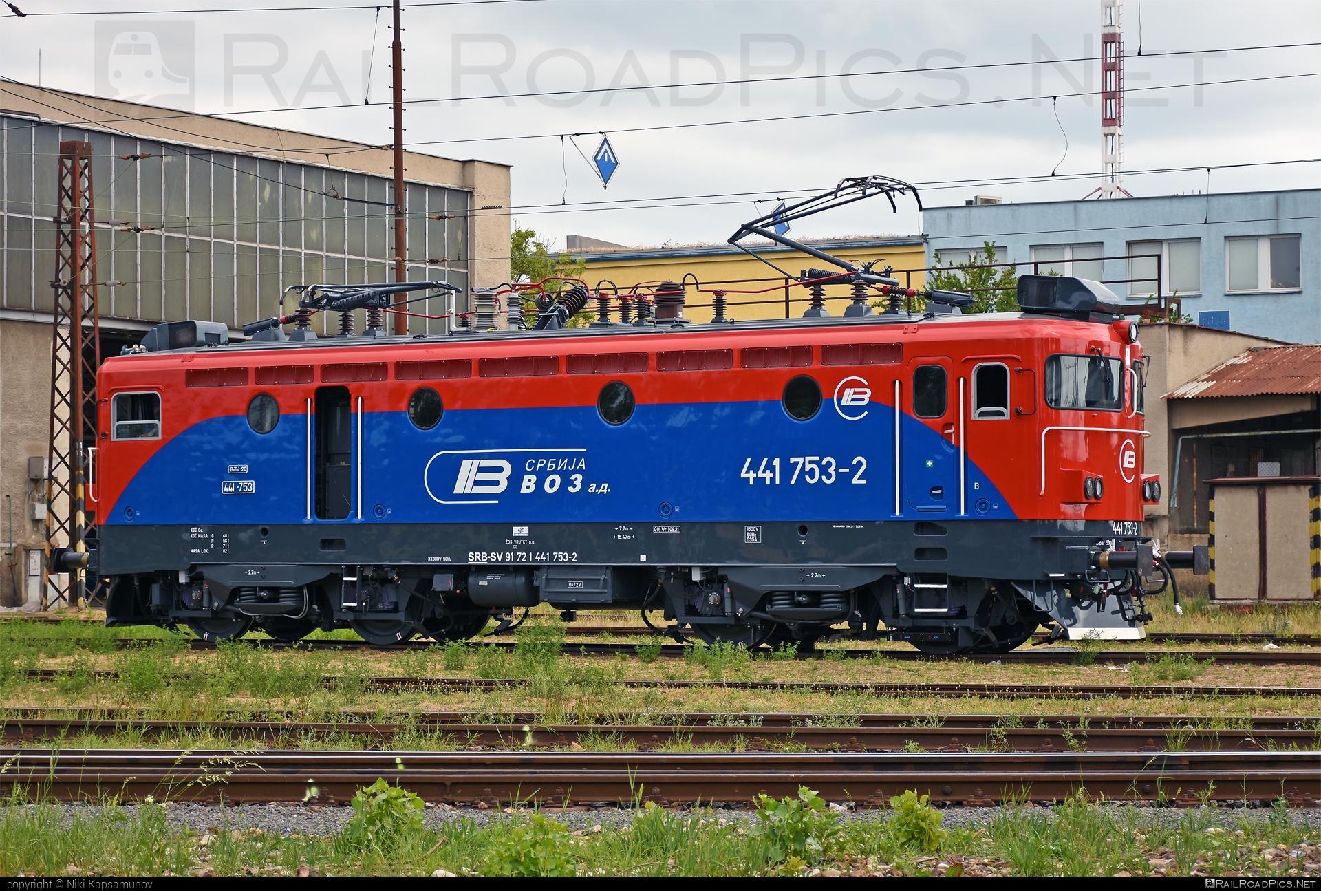 Končar JŽ class 441 - 441 753-2 operated by Srbija voz a.d. #jz441 #koncar #koncar441 #srbijavoz #srbijavozad