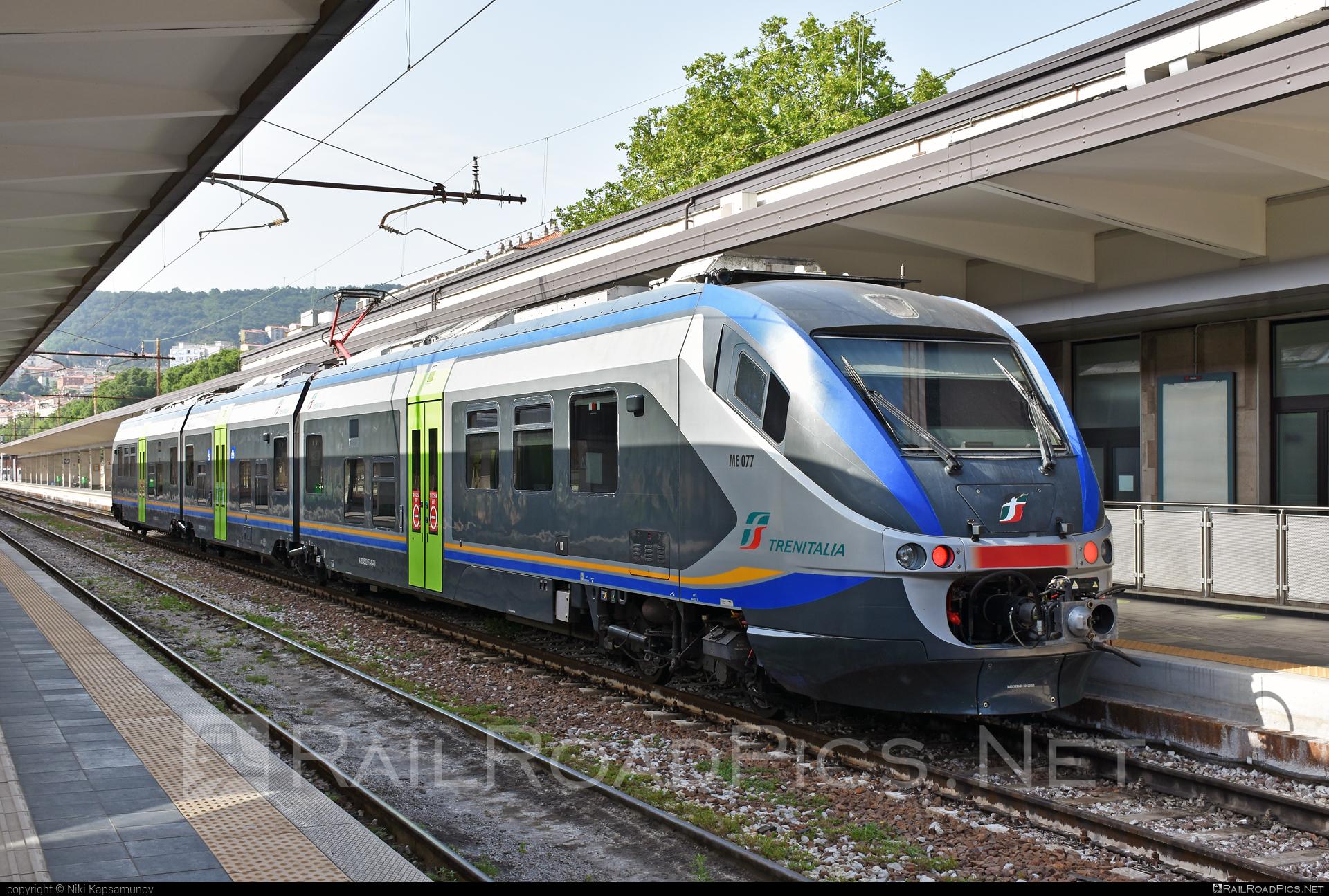 Alstom Minuetto - ME 077 operated by Trenitalia S.p.A. #alstom #alstomminuetto #ferroviedellostato #fs #fsitaliane #minuetto #trenitalia #trenitaliaspa