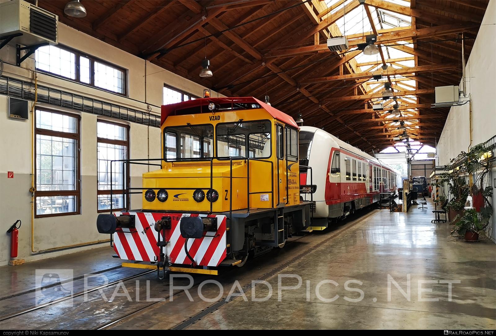 RD Vrútky Class 199.4 - 199 414-4 operated by Železničná Spoločnost' Cargo Slovakia a.s. #ZeleznicnaSpolocnostCargoSlovakia #locomotive1994 #rdvrutky #zsskcargo