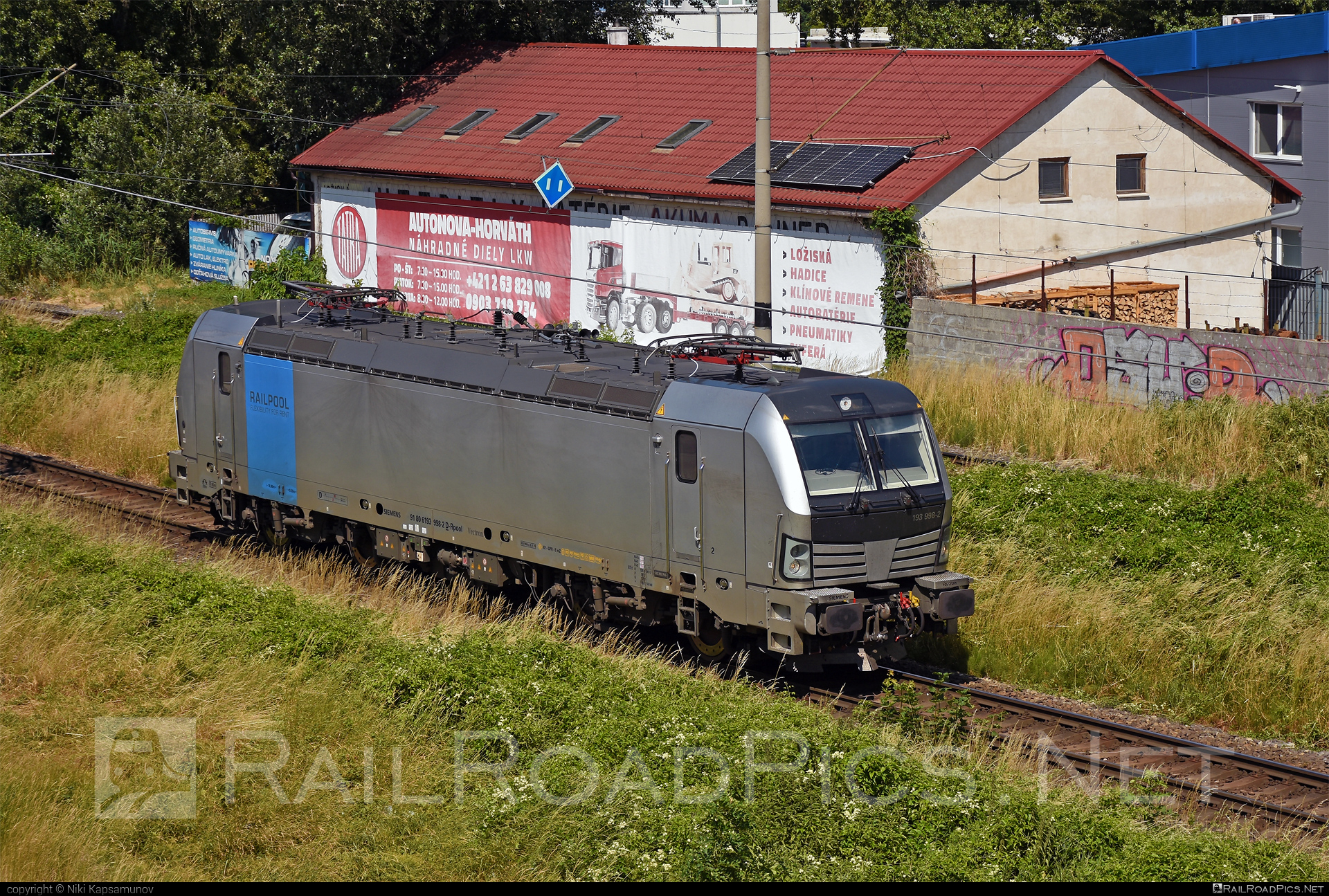Siemens Vectron AC - 193 998-2 operated by ecco-rail GmbH #eccorail #eccorailgmbh #railpool #railpoolgmbh #siemens #siemensvectron #siemensvectronac #vectron #vectronac