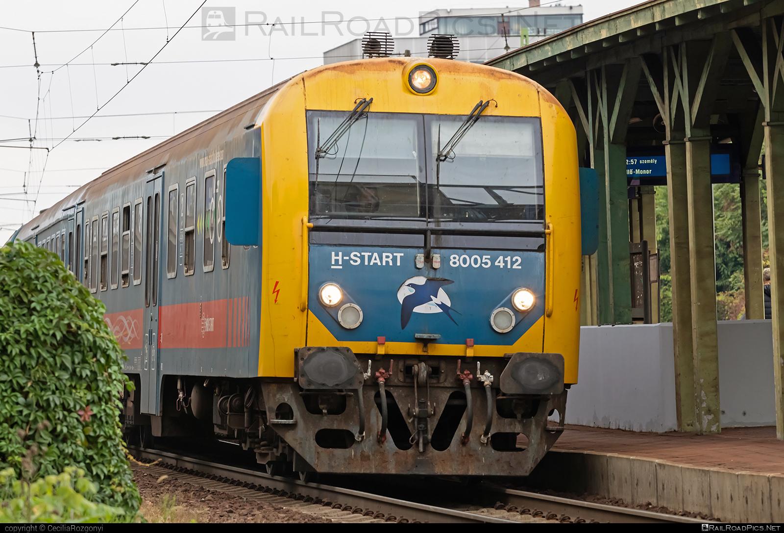 Class BD - BDt - BDt 400 Controlcar - 8005 412 operated by MÁV-START ZRt. #mavstart #mavstartzrt