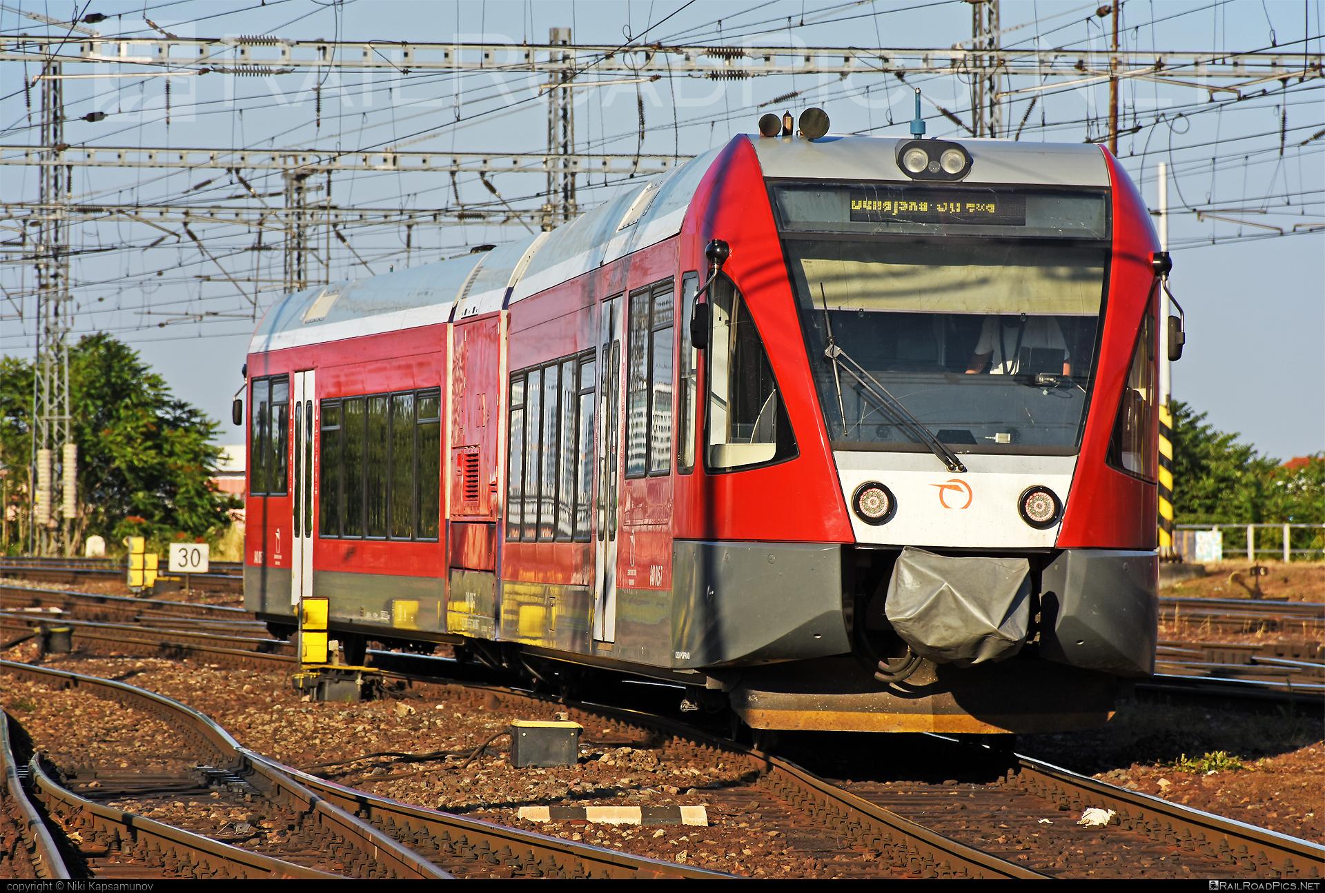 GTW Vysoké Tatry Class 840 - 840 005-7 operated by Železničná Spoločnost' Slovensko, a.s. #ZeleznicnaSpolocnostSlovensko #delfin #gtw26 #gtwvysoketatry #zssk #zssk840