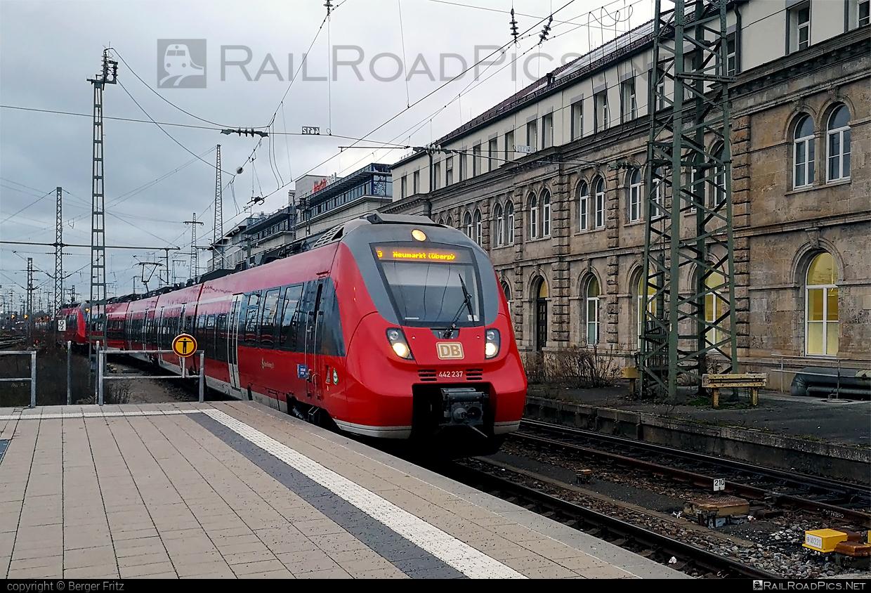 Bombardier Talent 2 - 442 237 operated by Deutsche Bahn / DB AG #bombardier #bombardiertalent #bombardiertalent2 #db #deutschebahn #talent2