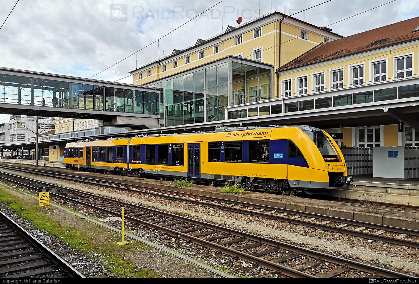 Alstom Coradia LINT 41 - 648 706-7 operated by Die Länderbahn GmbH DLB #alstom #alstomcoradia #alstomcoradialint #alstomcoradialint41 #coradialint41 #dielanderbahn #dlb #oberpfalzbahn