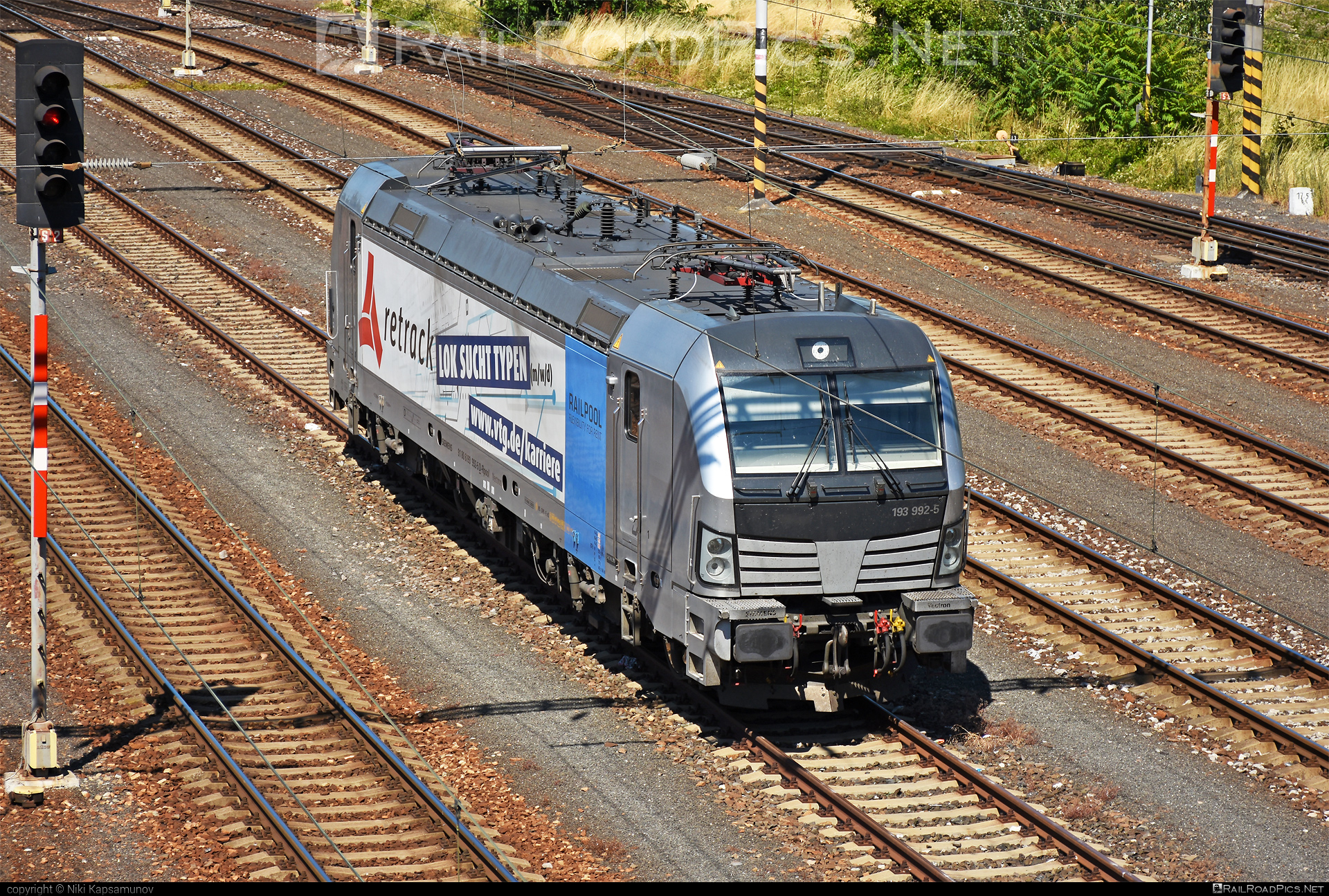 Siemens Vectron AC - 193 992-5 operated by Retrack GmbH & Co. KG #railpool #railpoolgmbh #retrack #retrackgmbh #siemens #siemensvectron #siemensvectronac #vectron #vectronac #vtg
