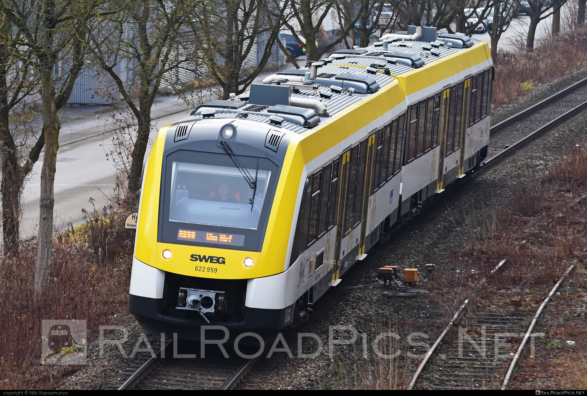 Alstom Coradia LINT 54 - 622 959 operated by Südwestdeutsche Landesverkehrs-AG #alstom #alstomcoradia #alstomcoradialint #alstomcoradialint54 #coradialint54 #sweg