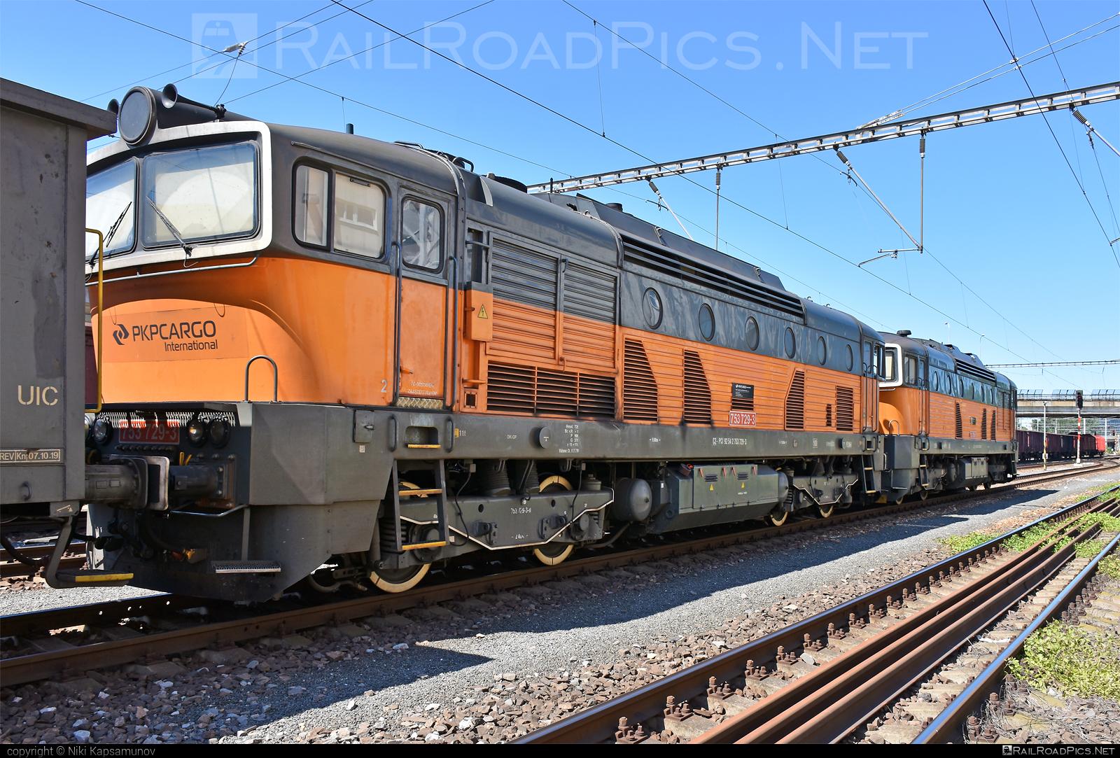 ČKD T 478.3 (753) - 753 729-3 operated by PKP CARGO INTERNATIONAL a.s. #brejlovec #ckd #ckdclass753 #ckdt4783 #locomotive753 #okuliarnik #pkpcargointernational #pkpcargointernationalas #pkpci