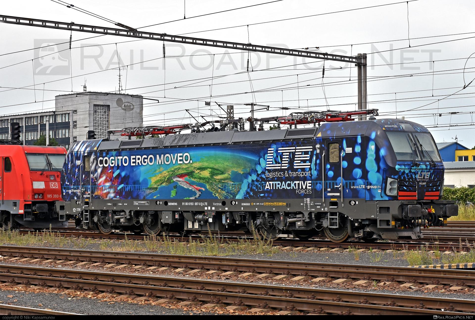 Siemens Vectron MS - 193 697 operated by LTE Logistik und Transport GmbH #lte #ltelogistikundtransport #ltelogistikundtransportgmbh #siemens #siemensvectron #siemensvectronms #vectron #vectronms
