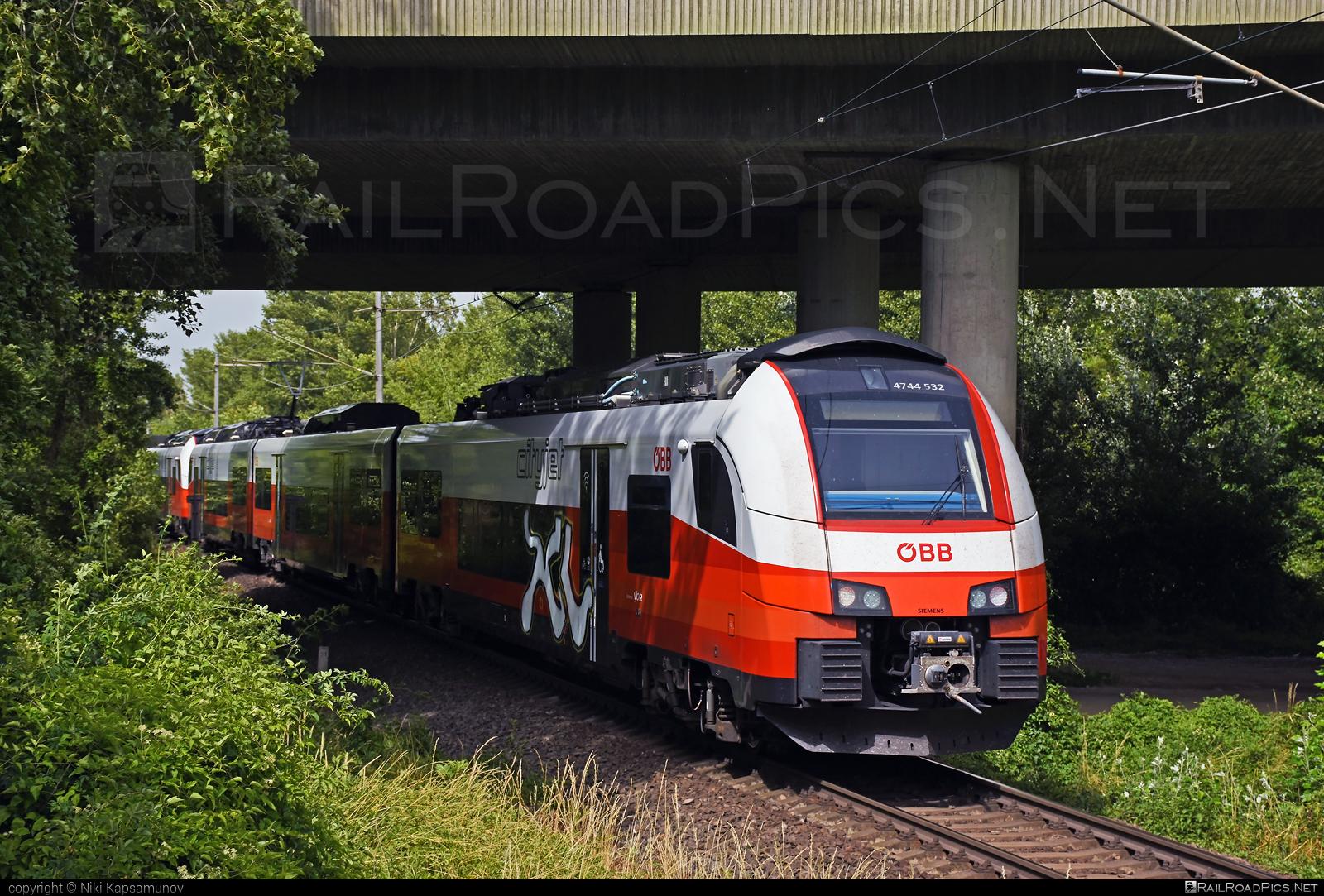 Siemens Desiro ML - 4744 532 operated by Österreichische Bundesbahnen #cityjet #desiro #desiroml #obb #obbcityjet #osterreichischebundesbahnen #siemens #siemensdesiro #siemensdesiroml