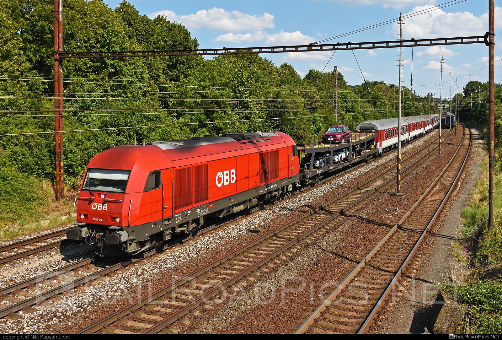 Siemens ER20 - 2016 007 operated by Österreichische Bundesbahnen #er20 #er20hercules #euronight #eurorunner #hercules #obb #osterreichischebundesbahnen #siemens #siemenser20 #siemenser20hercules #siemenseurorunner #siemenshercules