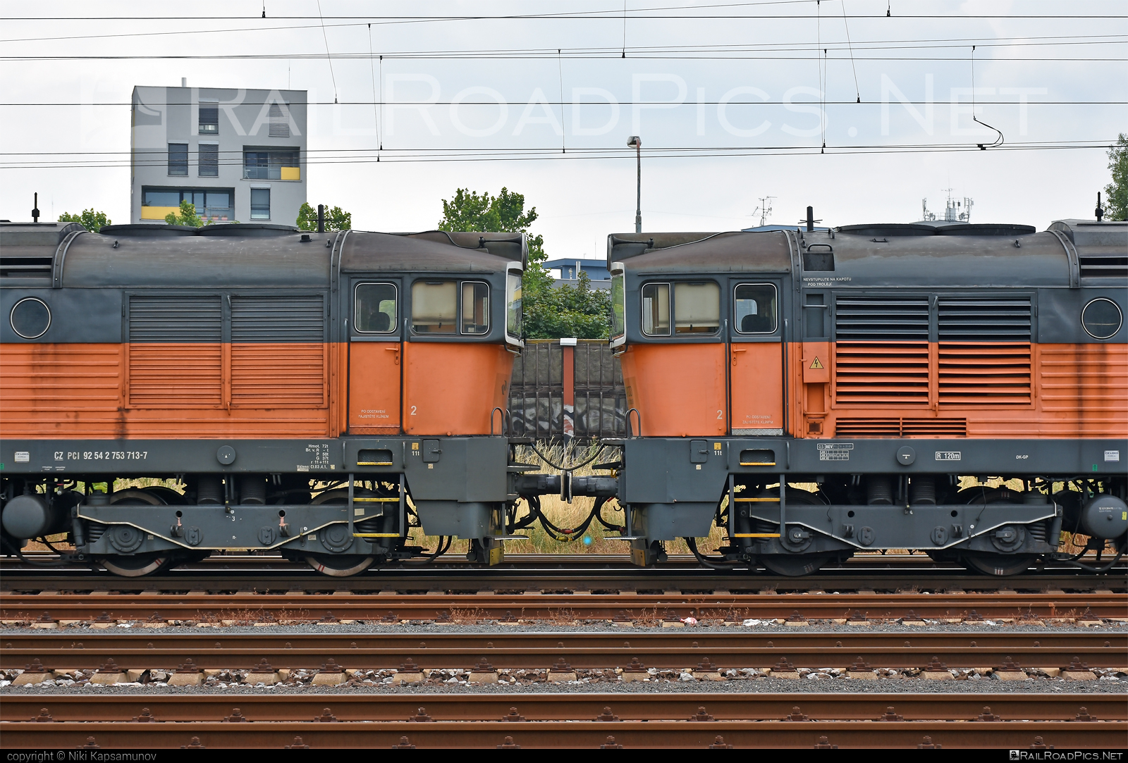 ČKD T 478.3 (753) - 753 713-7 operated by PKP CARGO INTERNATIONAL a.s. #brejlovec #ckd #ckdclass753 #ckdt4783 #locomotive753 #okuliarnik #pkpcargointernational #pkpcargointernationalas