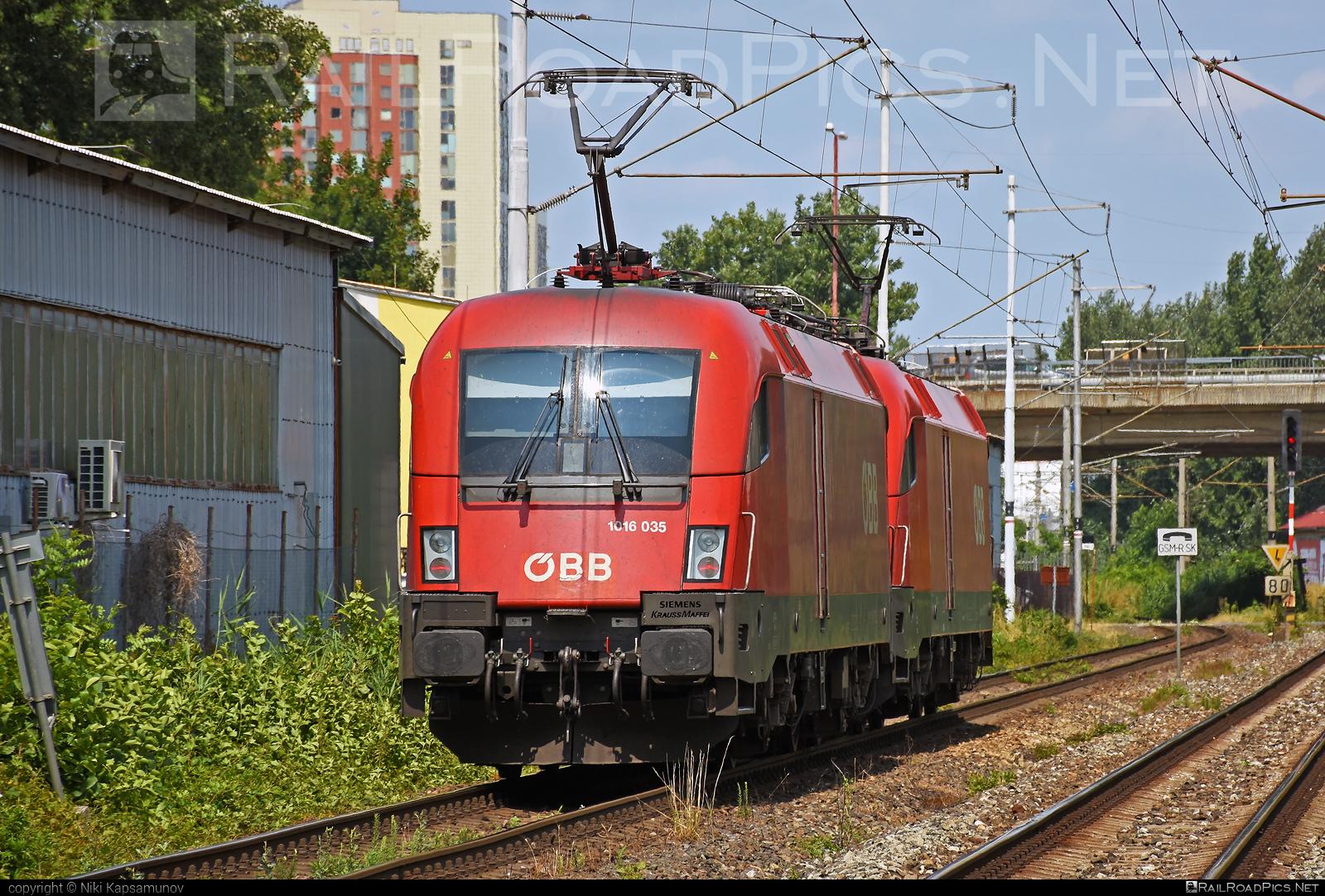 Siemens ES 64 U2 - 1016 035 operated by Rail Cargo Austria AG #es64 #es64u #es64u2 #eurosprinter #obb #osterreichischebundesbahnen #rcw #siemens #siemenses64 #siemenses64u #siemenses64u2 #siemenstaurus #taurus #tauruslocomotive