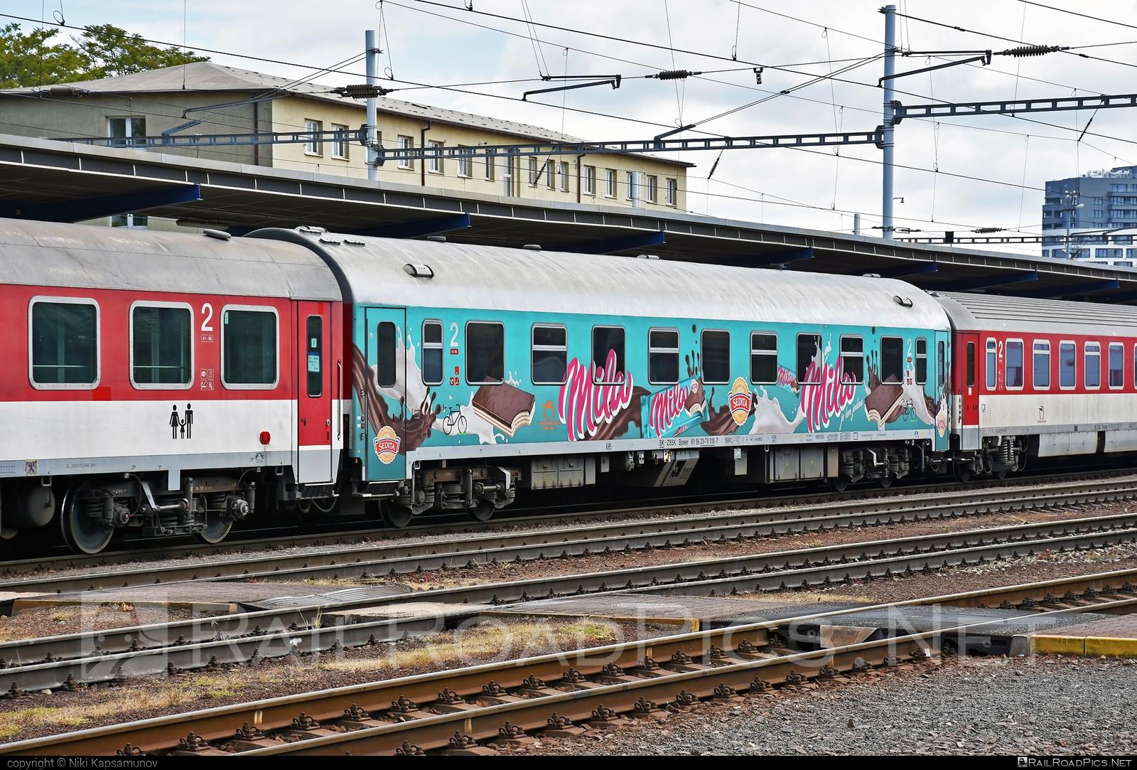 Class B - Bpeer - 29-70 016-7 operated by Železničná Spoločnost' Slovensko, a.s. #ZeleznicnaSpolocnostSlovensko #bpeer #mila #zssk