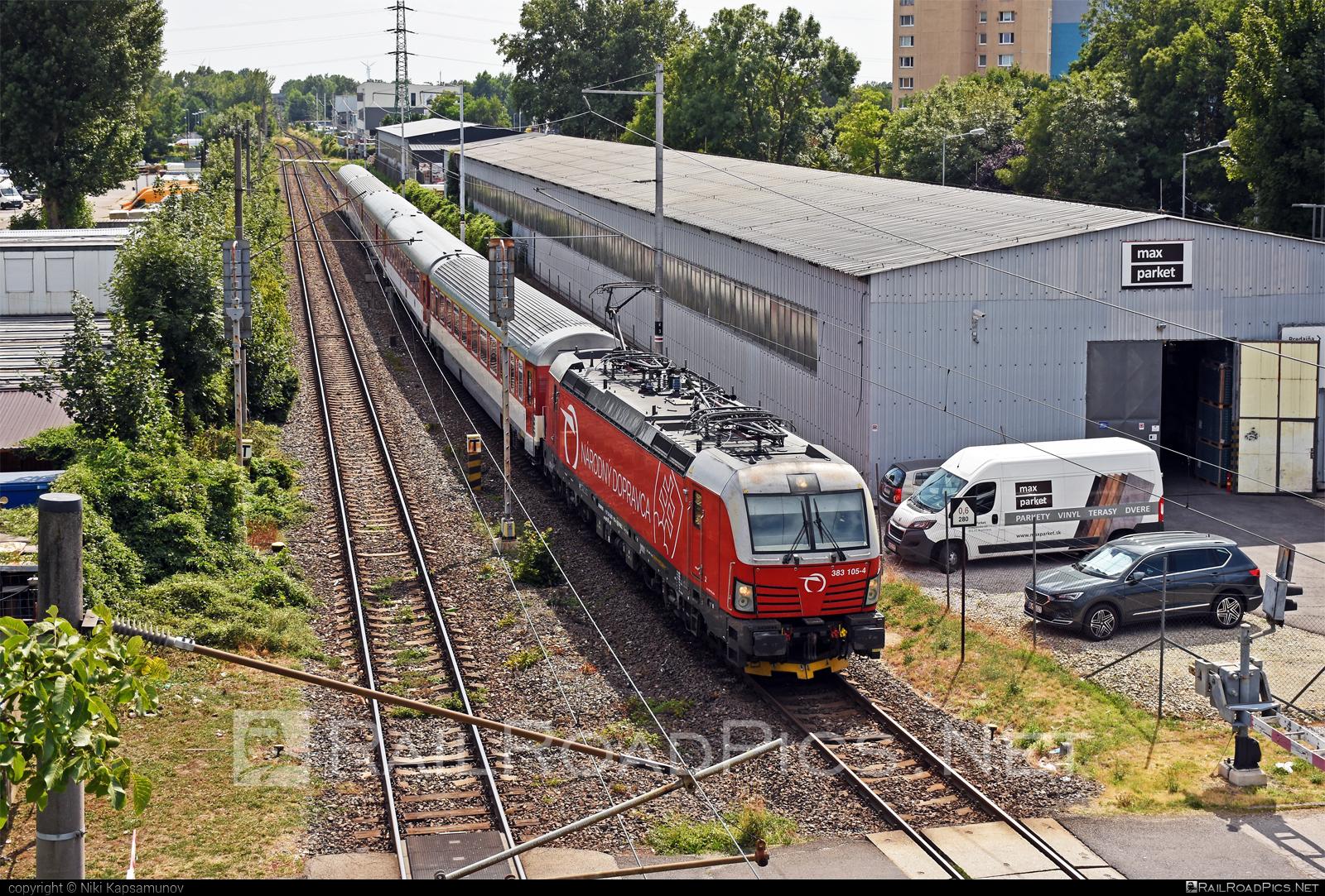 Siemens Vectron MS - 383 105-4 operated by Železničná Spoločnost' Slovensko, a.s. #RollingStockLease #RollingStockLeaseSro #ZeleznicnaSpolocnostSlovensko #raill #siemens #siemensvectron #siemensvectronms #vectron #vectronms #zssk