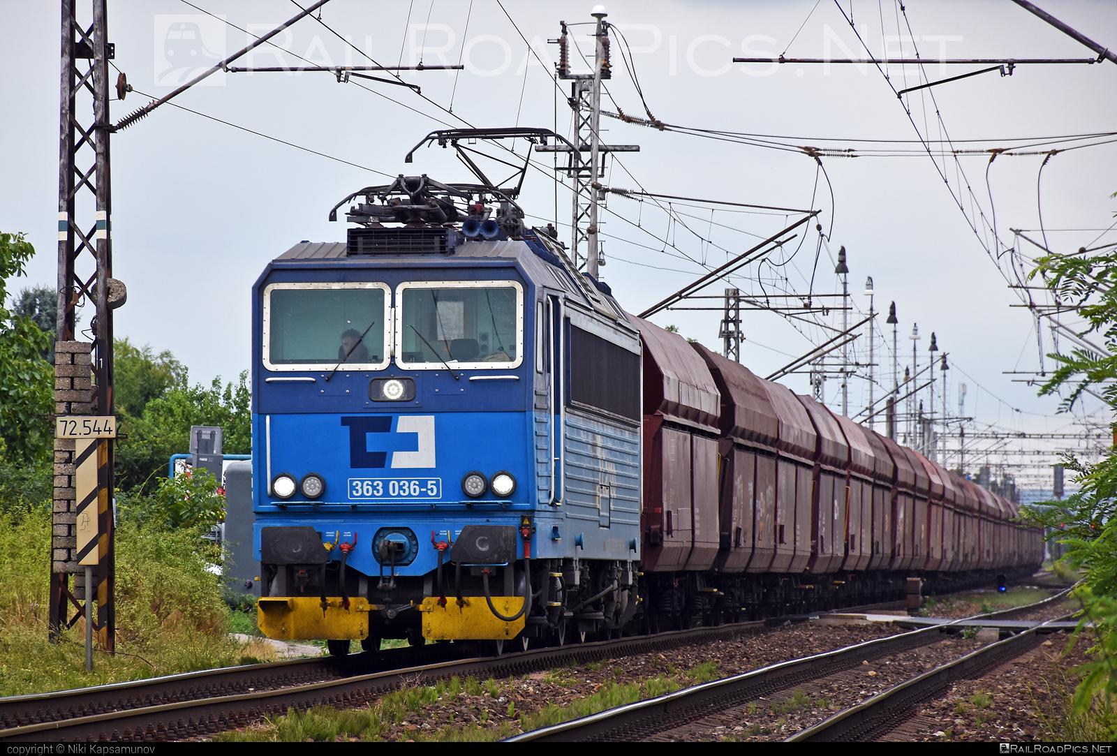 Škoda 69E - 363 036-5 operated by ČD Cargo, a.s. #cdcargo #es4991 #eso #hopperwagon #locomotive363 #skoda #skoda69e