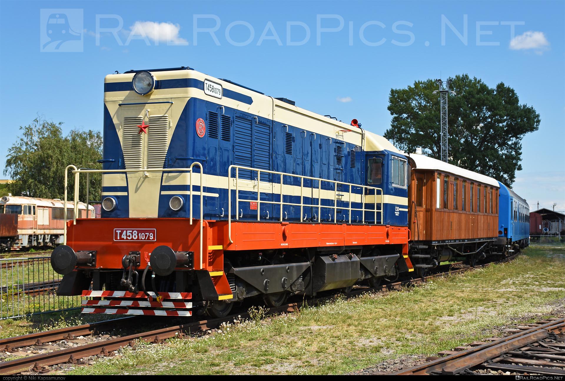 ČKD T 458.1 (721) - 721 079-2 operated by Železnice Slovenskej Republiky #ckd #ckd721 #ckdt4581 #hektor #locomotive721 #locomotivet4581 #velkyhektor #zelezniceslovenskejrepubliky #zsr