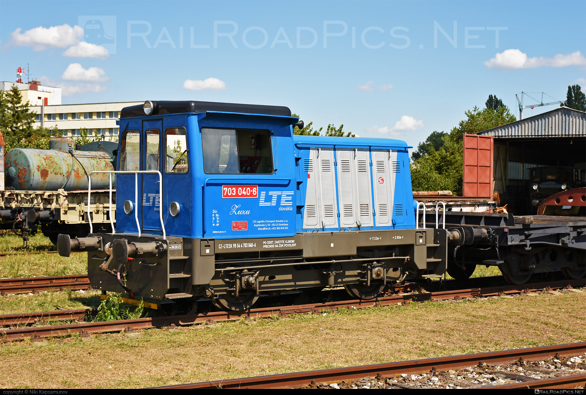 Turčianske strojárne Martin T 212.1 (703) - 703 040-6 operated by LTE Logistik a Transport Slovakia, s.r.o. #locomotive703 #locomotivet2121 #lte #ltesk #prasa #prasatko #prasiatko #t2121 #turcianskestrojarnemartin
