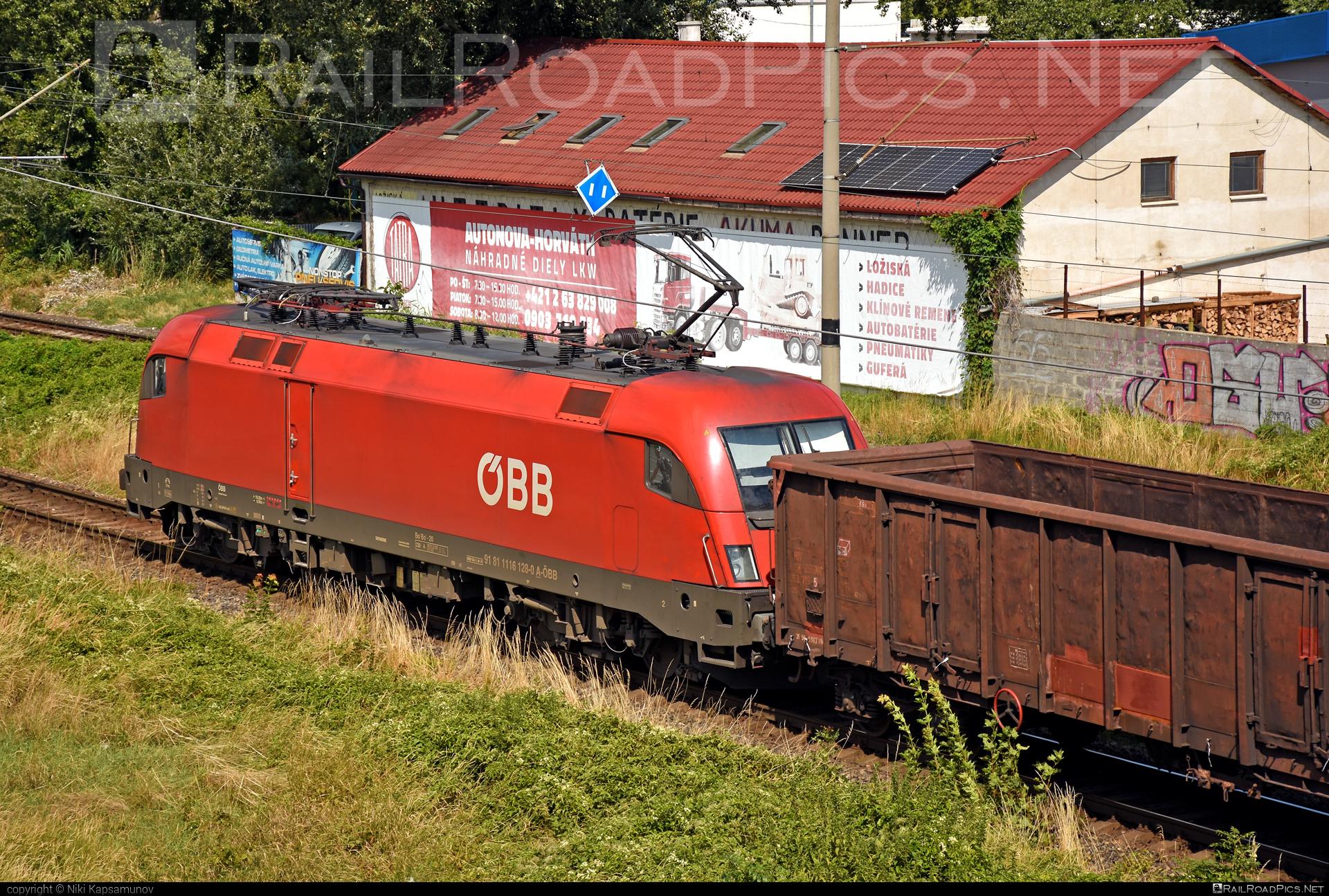 Siemens ES 64 U2 - 1116 128 operated by Rail Cargo Austria AG #es64 #es64u #es64u2 #eurosprinter #obb #osterreichischebundesbahnen #rcw #siemens #siemenses64 #siemenses64u #siemenses64u2 #siemenstaurus #taurus #tauruslocomotive