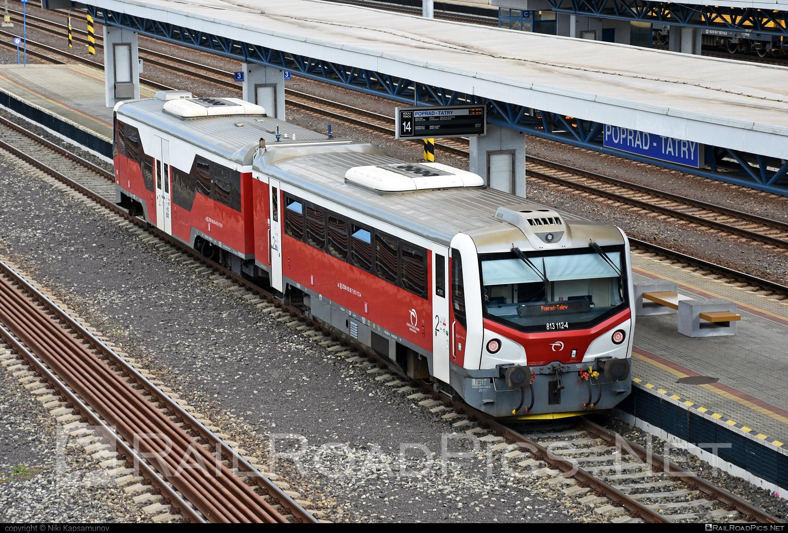 ŽOS Zvolen Class 813.1 - 813 112-4 operated by Železničná Spoločnost' Slovensko, a.s. #ZeleznicnaSpolocnostSlovensko #mravec #zoszvolen #zoszvolen8131 #zssk