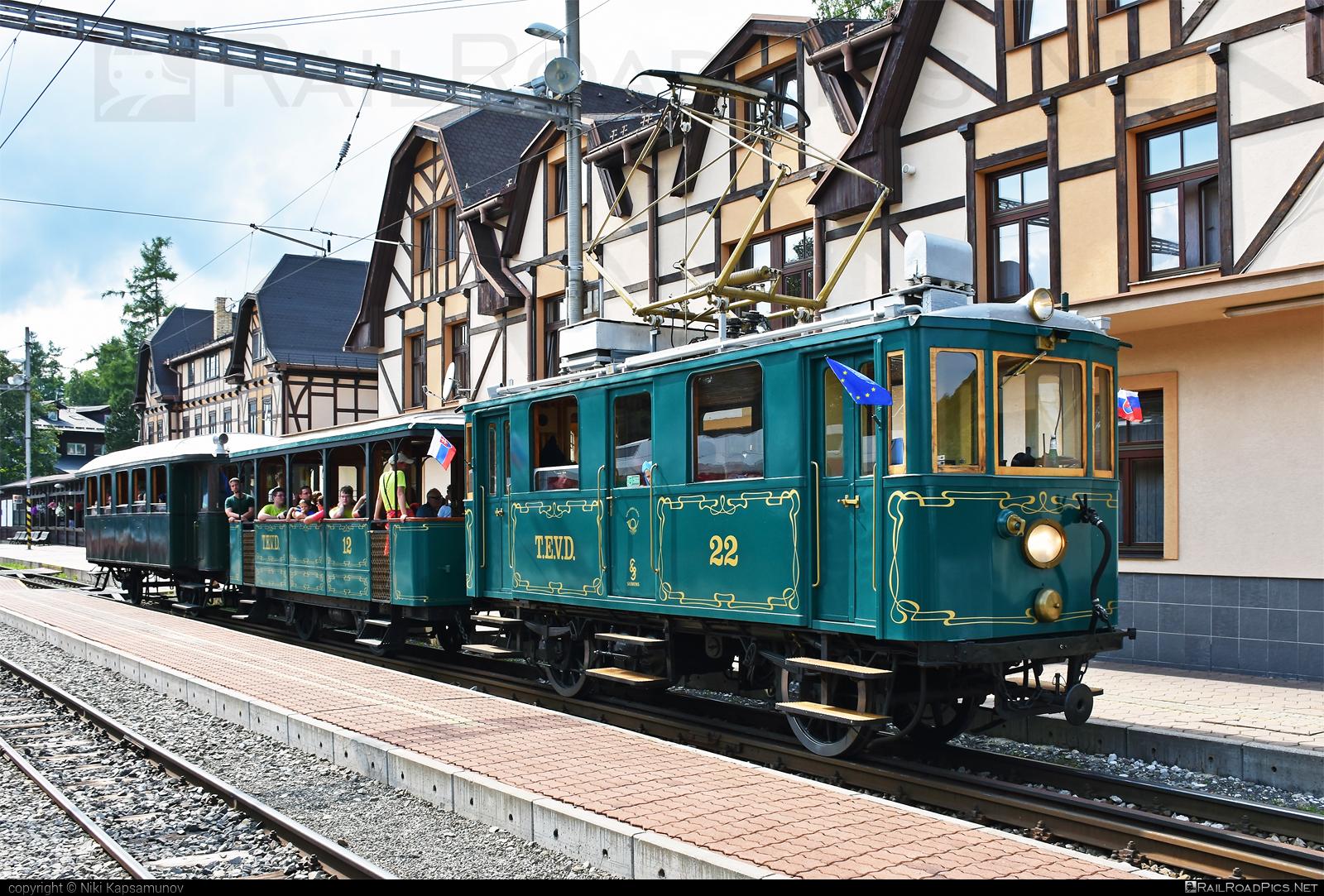 Ganz EMU 26.001 - EMU 26.001 operated by Občianske združenie Veterán klub železníc Poprad #VeteranKlubZeleznicPoprad #emu26001 #ganz #kometa #tatranskakometa #tevd #tevd22 #tez
