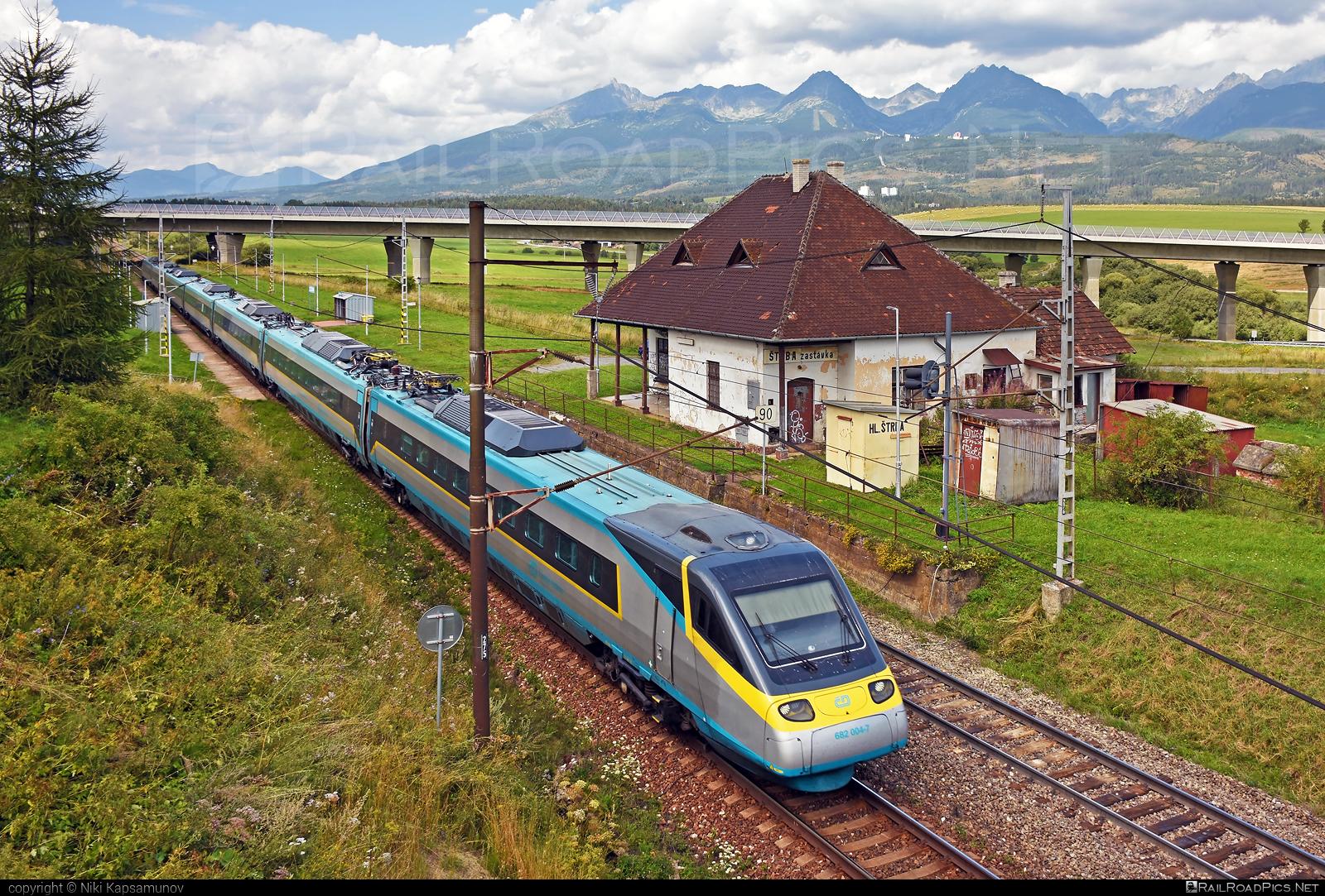 Alstom ČD Class 680 Pendolino - 682 004-7 operated by České dráhy, a.s. #CDclass680 #alstom #cd #ceskedrahy #pendolino