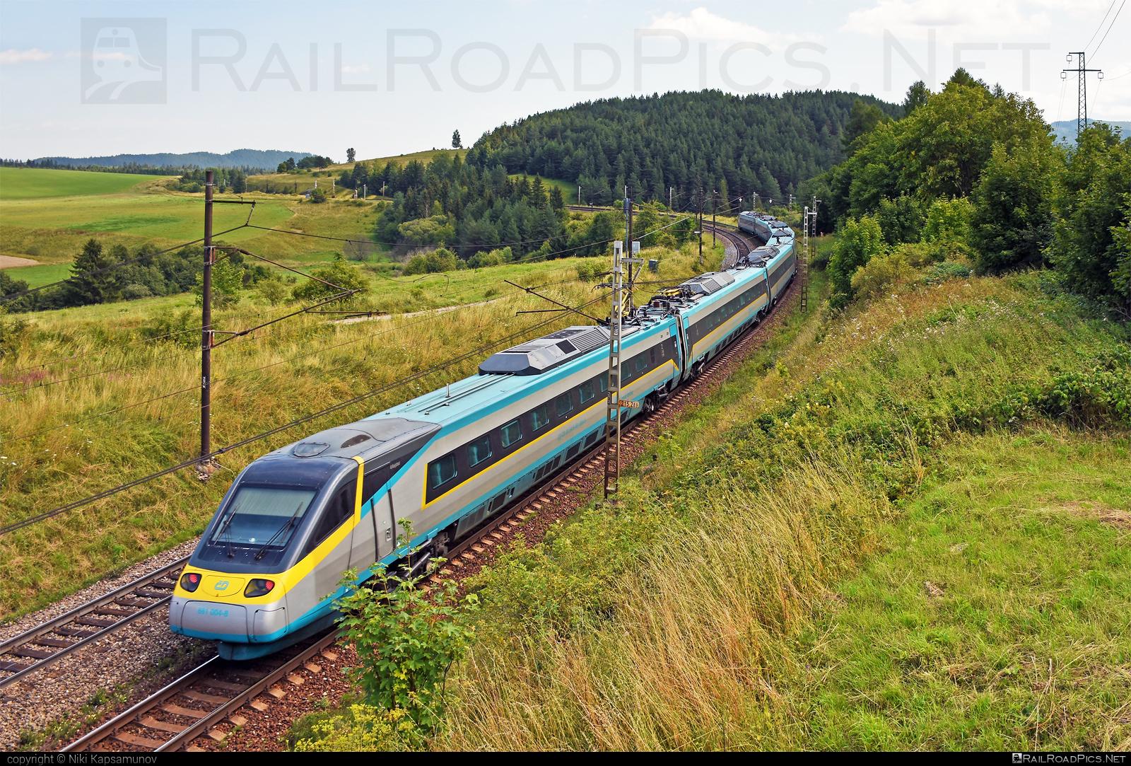 Alstom ČD Class 680 Pendolino - 681 004-8 operated by České dráhy, a.s. #CDclass680 #alstom #cd #ceskedrahy #pendolino