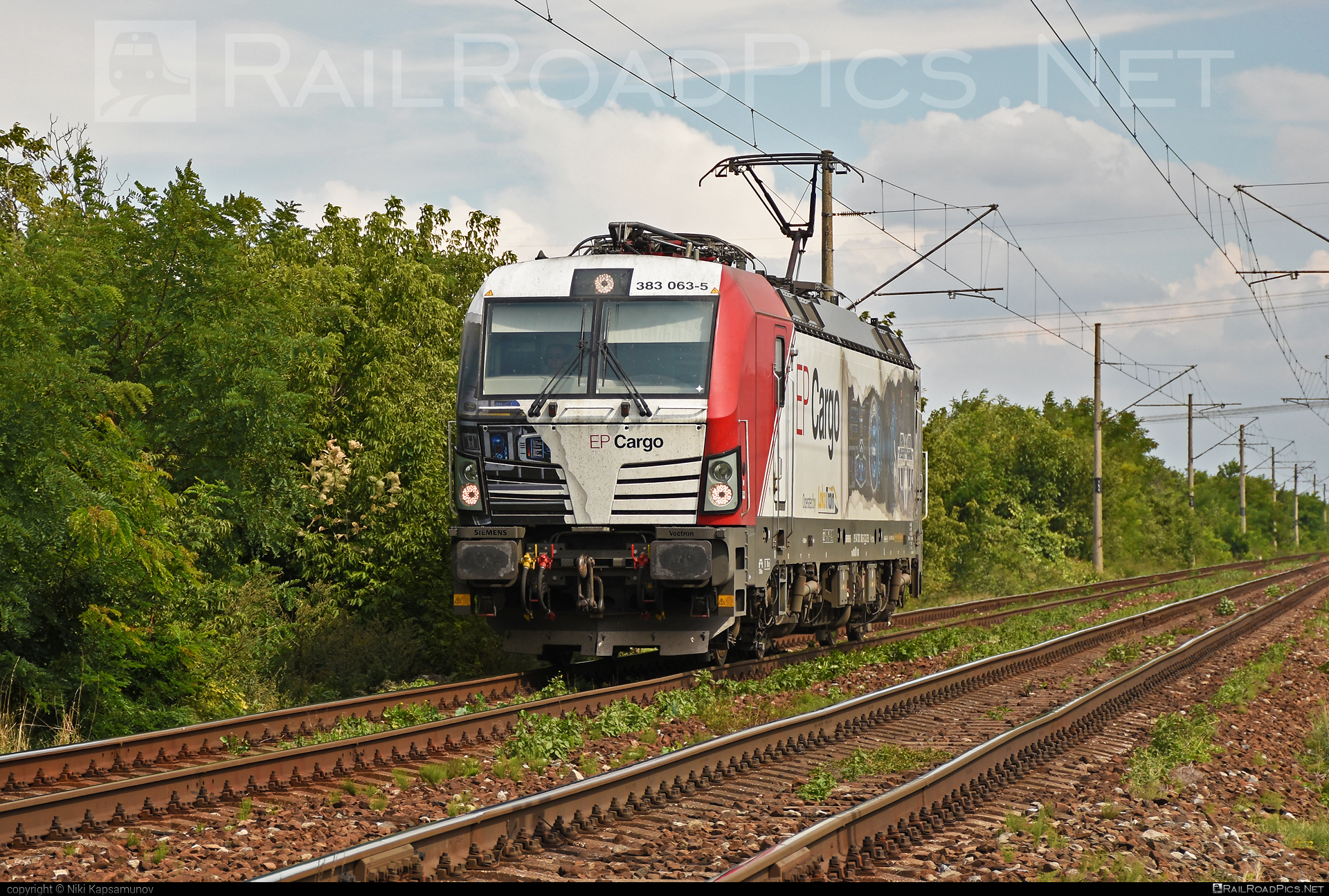 Siemens Vectron MS - 383 063-5 operated by Loko Train s.r.o. #epcargo #lokotrain #lokotrainsro #siemens #siemensvectron #siemensvectronms #vectron #vectronms