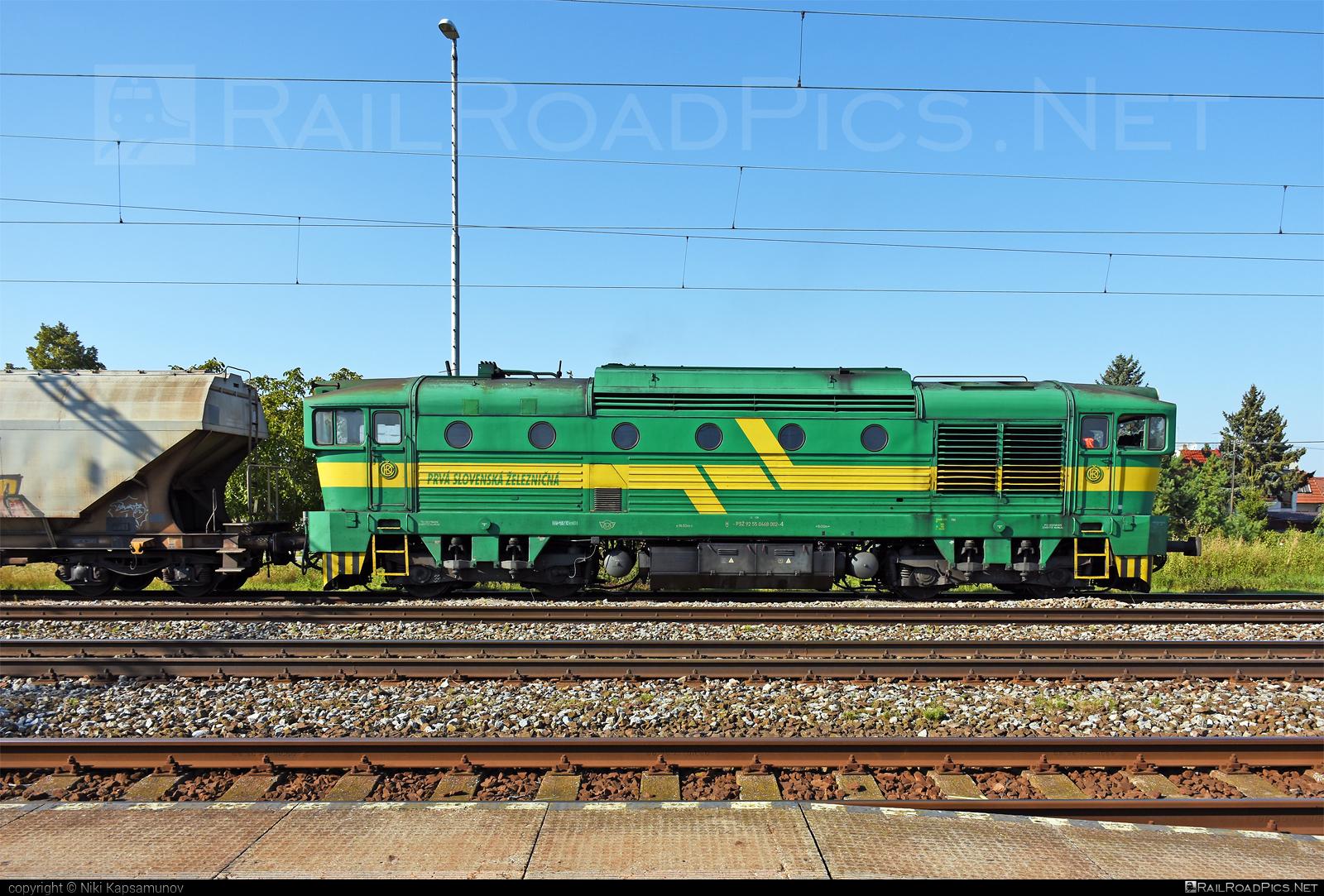 ČKD T 478.3 (753) - 468 002-4 operated by Prvá Slovenská železničná, a.s. #brejlovec #ckd #ckdclass753 #ckdt4783 #locomotive753 #okuliarnik #prvaslovenskazeleznicna #prvaslovenskazeleznicnaas #psz