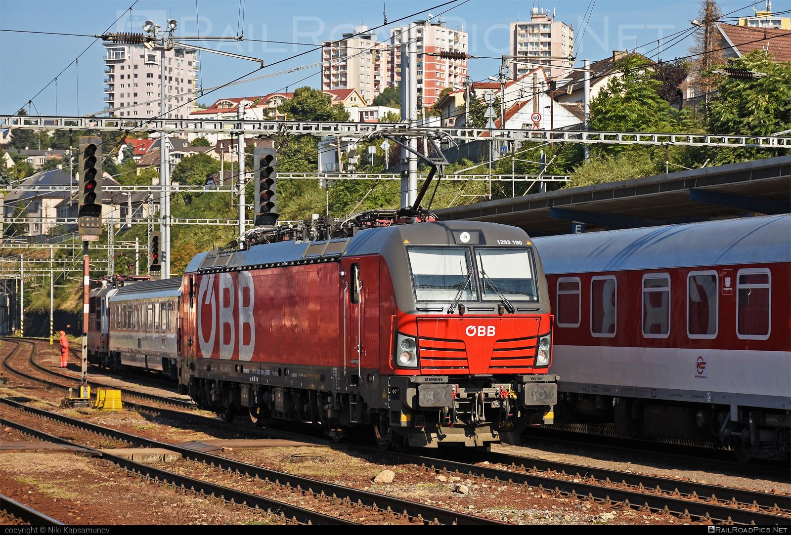Siemens Vectron MS - 1293 190 operated by Rail Cargo Austria AG #obb #osterreichischebundesbahnen #rcw #siemens #siemensvectron #siemensvectronms #vectron #vectronms