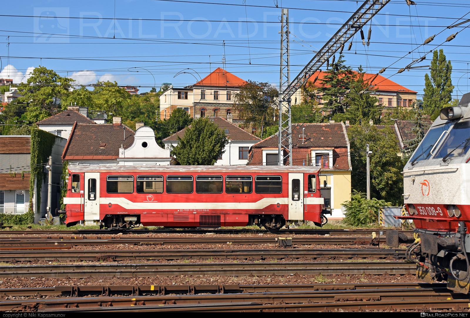 ŽOS Zvolen Class 812 - 812 030-9 operated by Železničná Spoločnost' Slovensko, a.s. #ZeleznicnaSpolocnostSlovensko #zoszvolen #zoszvolen812 #zssk