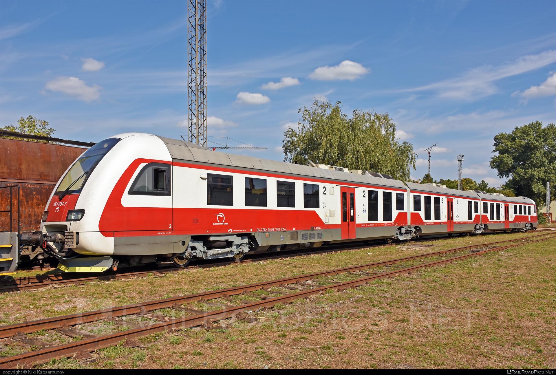 ŽOS Vrútky Class 861.0 - 861 031-7 operated by Železničná Spoločnost' Slovensko, a.s. #ZeleznicnaSpolocnostSlovensko #zosvrutky #zosvrutky861 #zosvrutky8610 #zssk #zssk861 #zssk8610