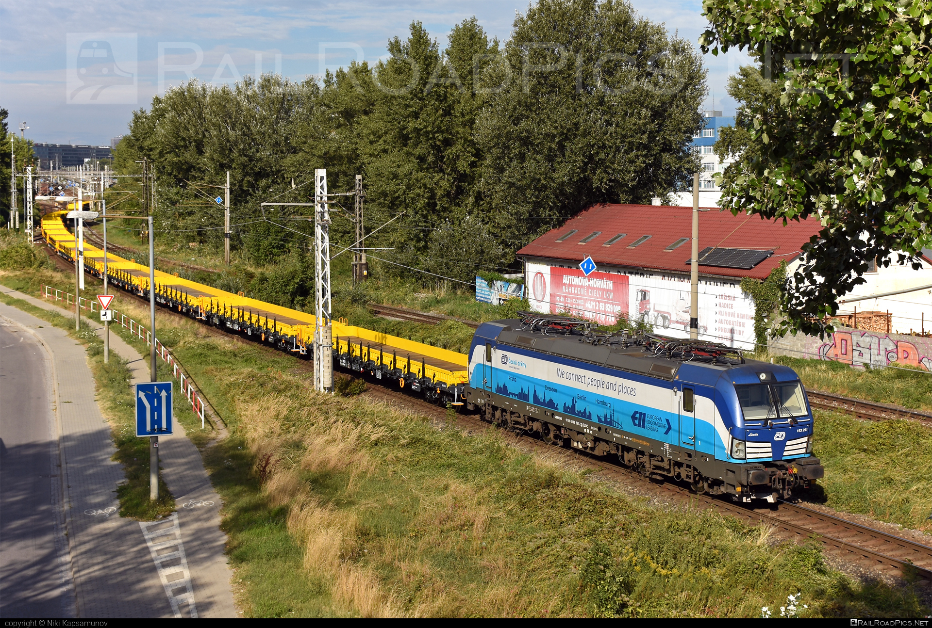 Siemens Vectron MS - 193 291 operated by ČD Cargo, a.s. #cdcargo #ell #ellgermany #eloc #europeanlocomotiveleasing #siemens #siemensvectron #siemensvectronms #vectron #vectronms
