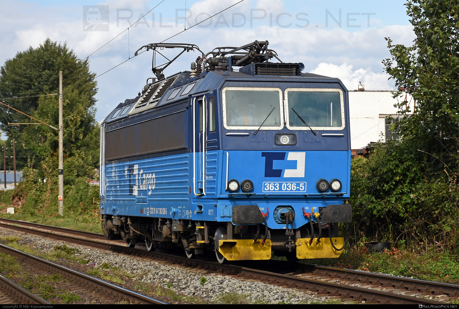 Škoda 69E - 363 036-5 operated by ČD Cargo, a.s. #cdcargo #es4991 #eso #locomotive363 #skoda #skoda69e