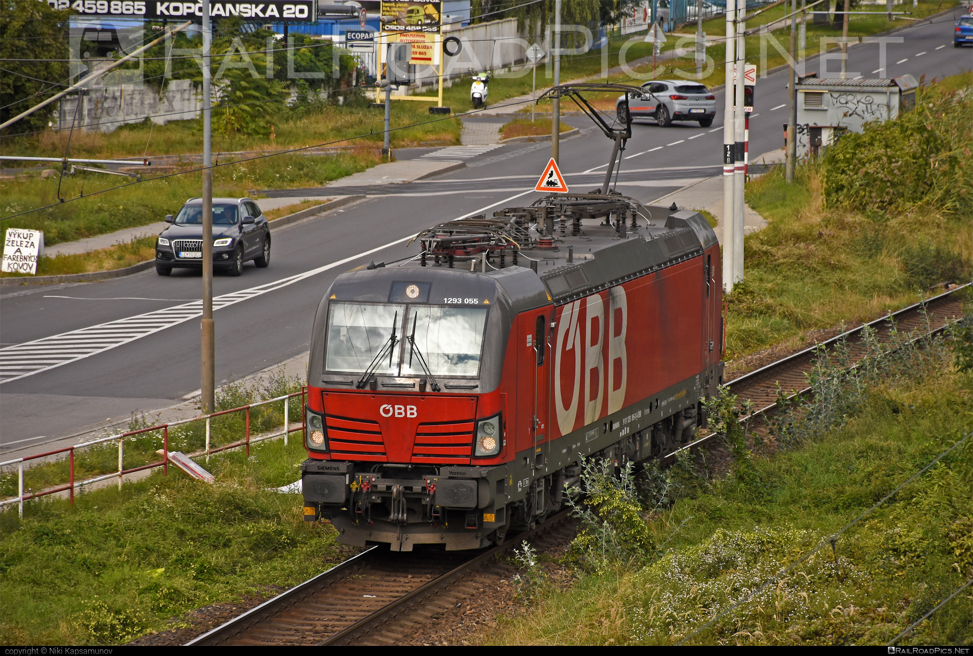 Siemens Vectron MS - 1293 055 operated by Rail Cargo Austria AG #obb #osterreichischebundesbahnen #rcw #siemens #siemensvectron #siemensvectronms #vectron #vectronms