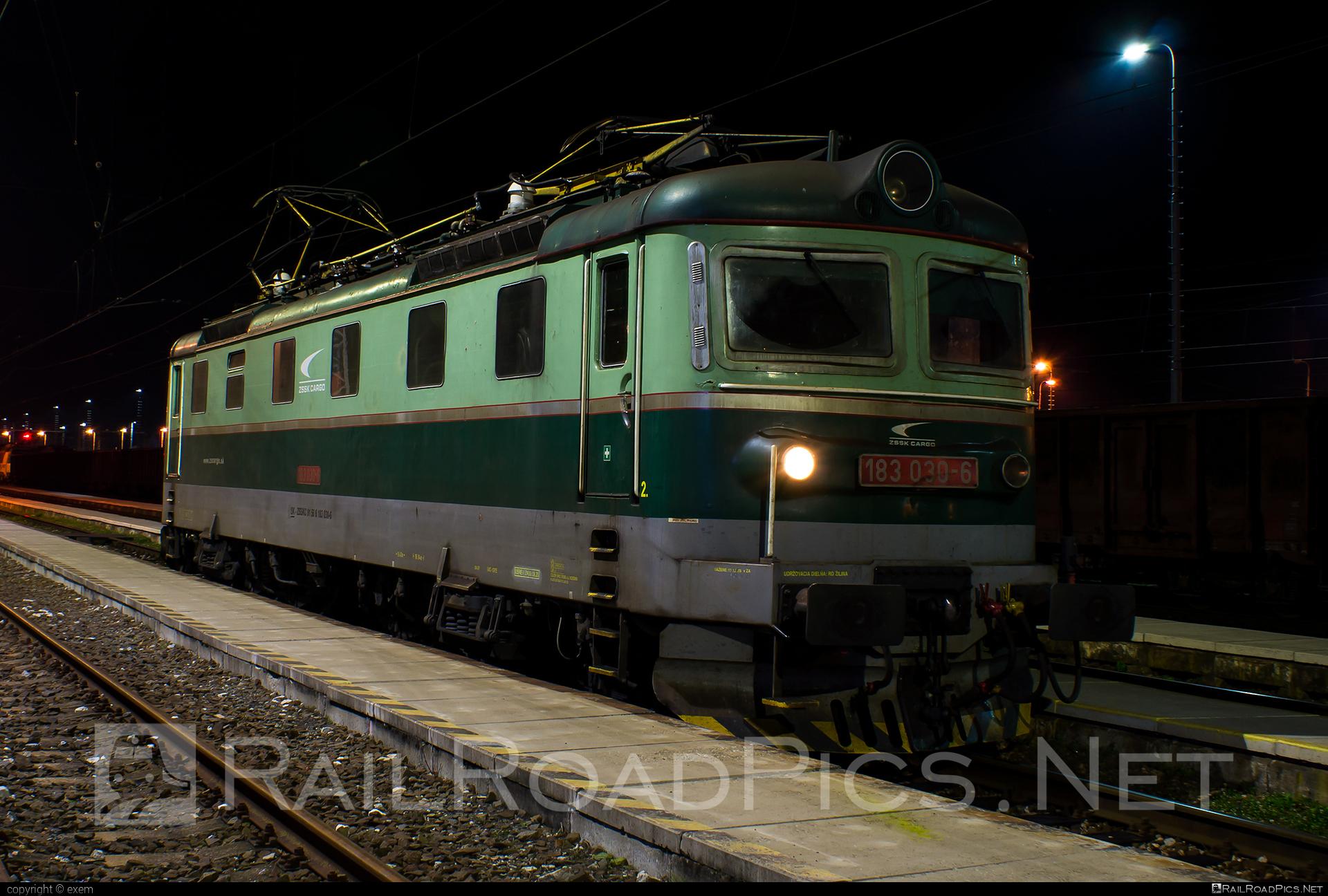 Škoda 61E - 183 030-6 operated by Železničná Spoločnost' Cargo Slovakia a.s. #ZeleznicnaSpolocnostCargoSlovakia #locomotive183 #rakana #sestikolak #sestikolo #skoda #skoda61e #zsskcargo